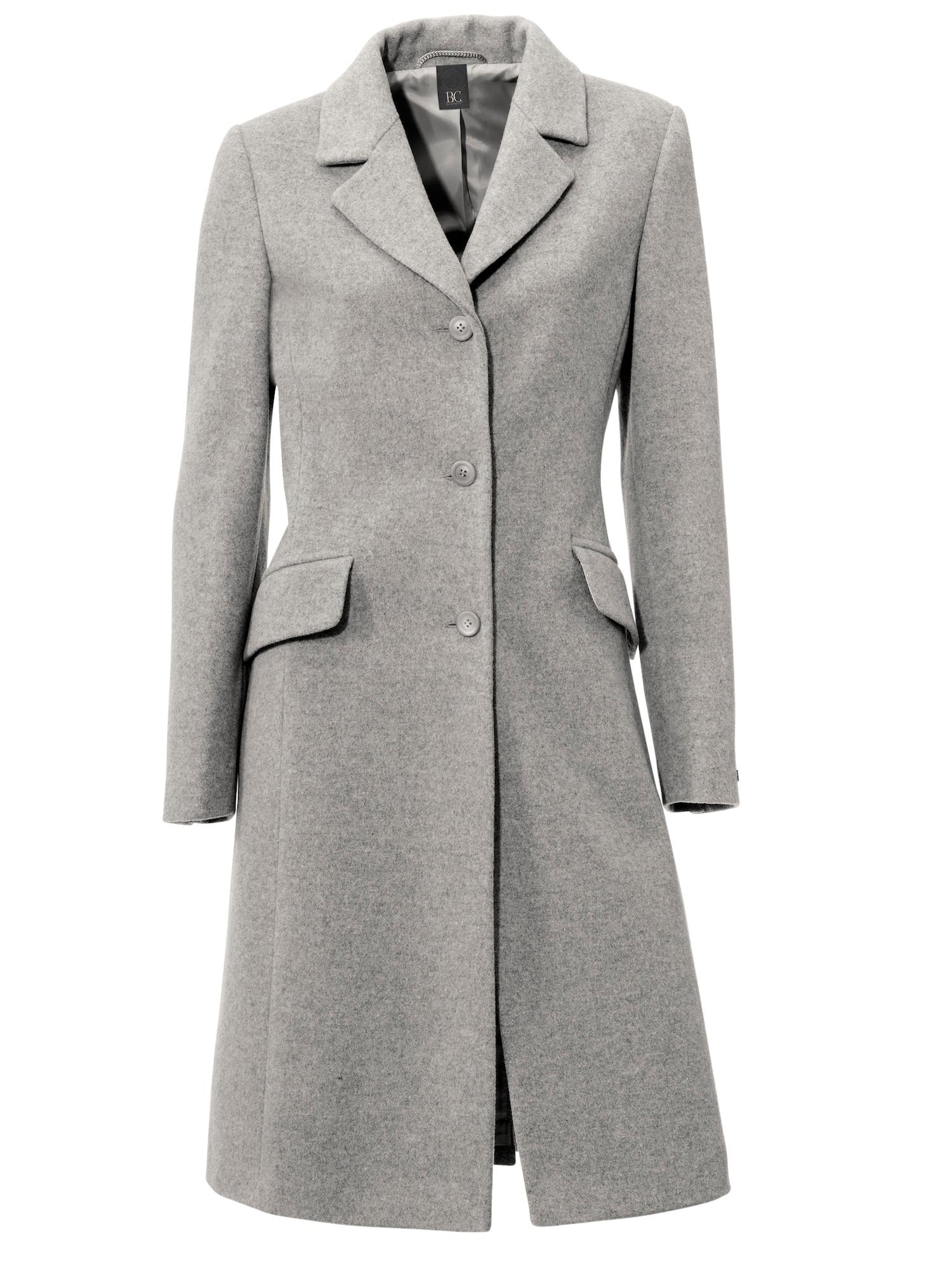 heine Demisezoninis paltas margai pilka