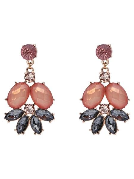 Ohrringe für Frauen - ONLY Ohrringe gold anthrazit altrosa  - Onlineshop ABOUT YOU