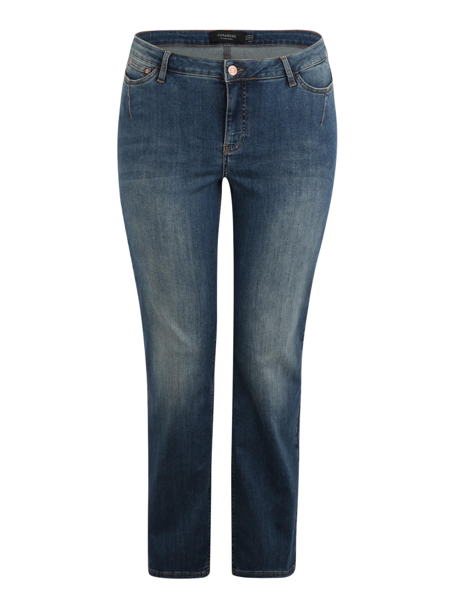 Junarose Džinsai tamsiai (džinso) mėlyna