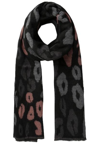 Schals für Frauen - PIECES Langer, bedruckter Schal schwarz  - Onlineshop ABOUT YOU