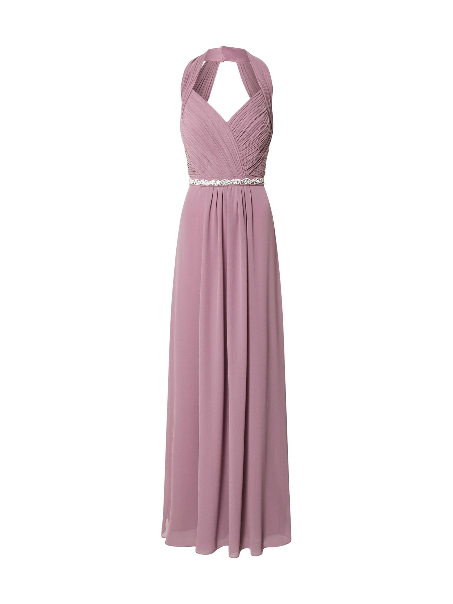 STAR NIGHT Vakarinė suknelė rausvai violetinė spalva