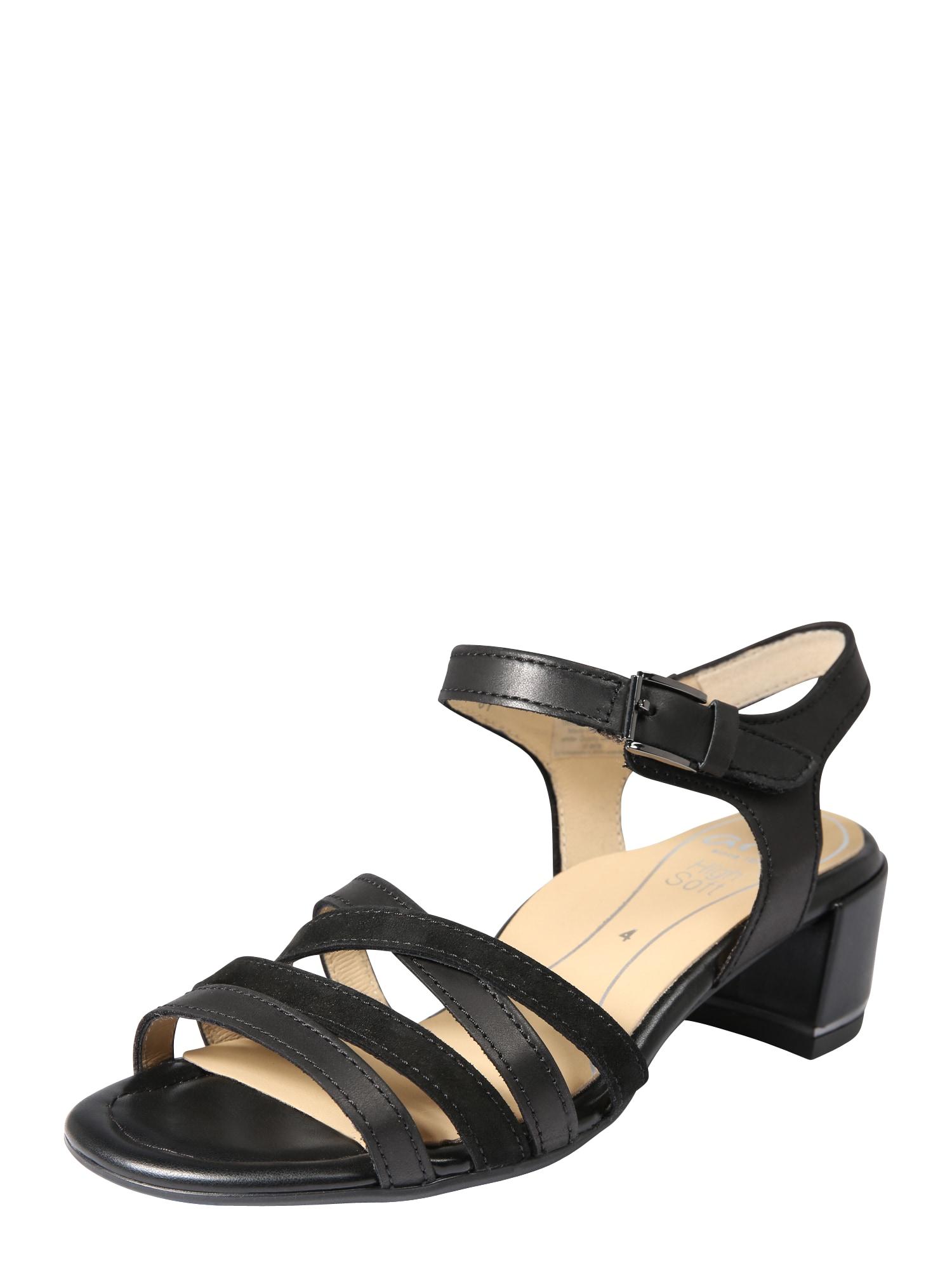 Sandály GRADO-HIGHSOFT černá ARA