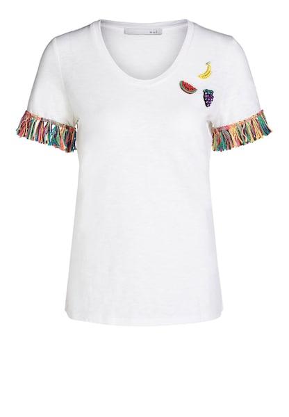 Oberteile - T Shirt › Oui › mischfarben weiß  - Onlineshop ABOUT YOU