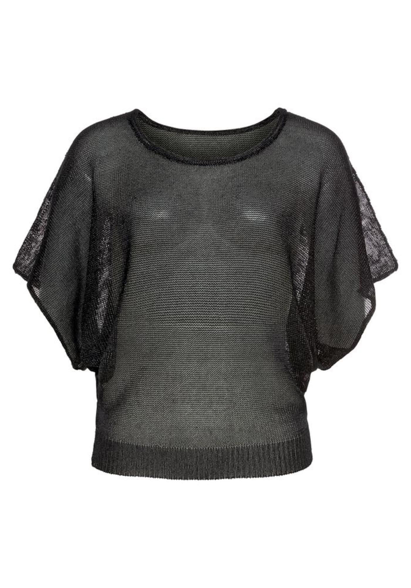 LASCANA Megztinis juoda