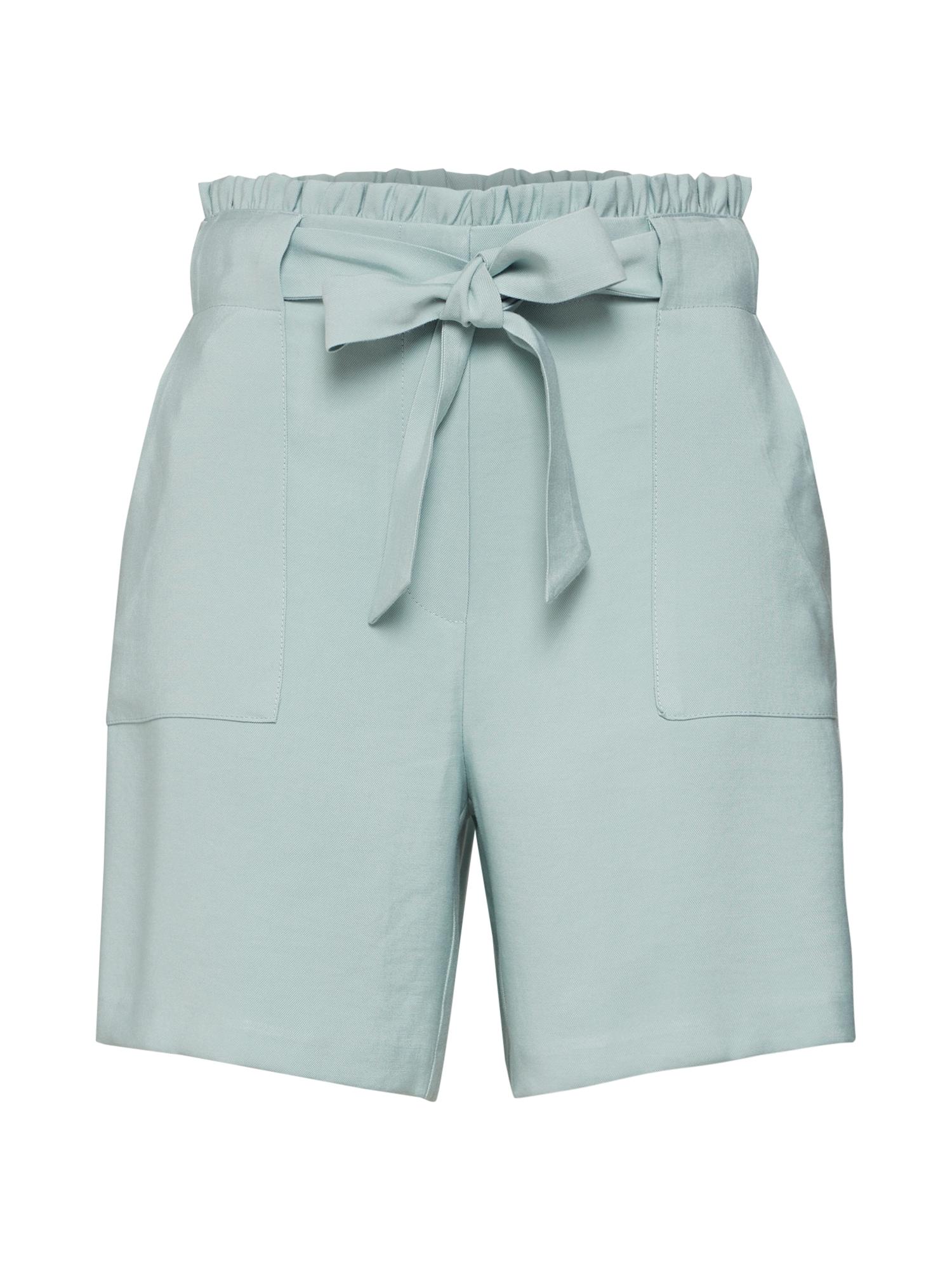 Kalhoty VILUKKI HW SHORTS světlemodrá VILA