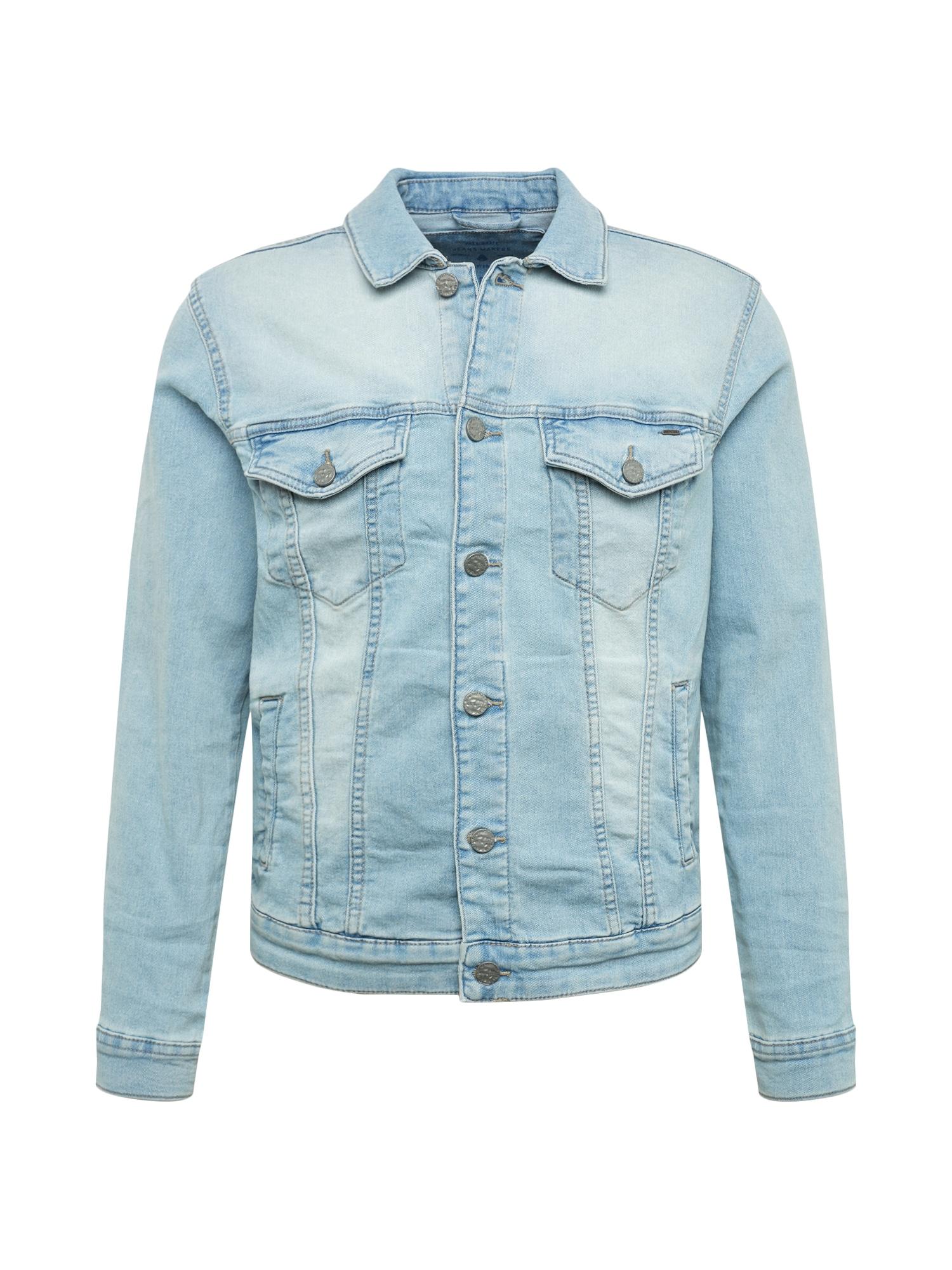Přechodná bunda modrá džínovina Only & Sons