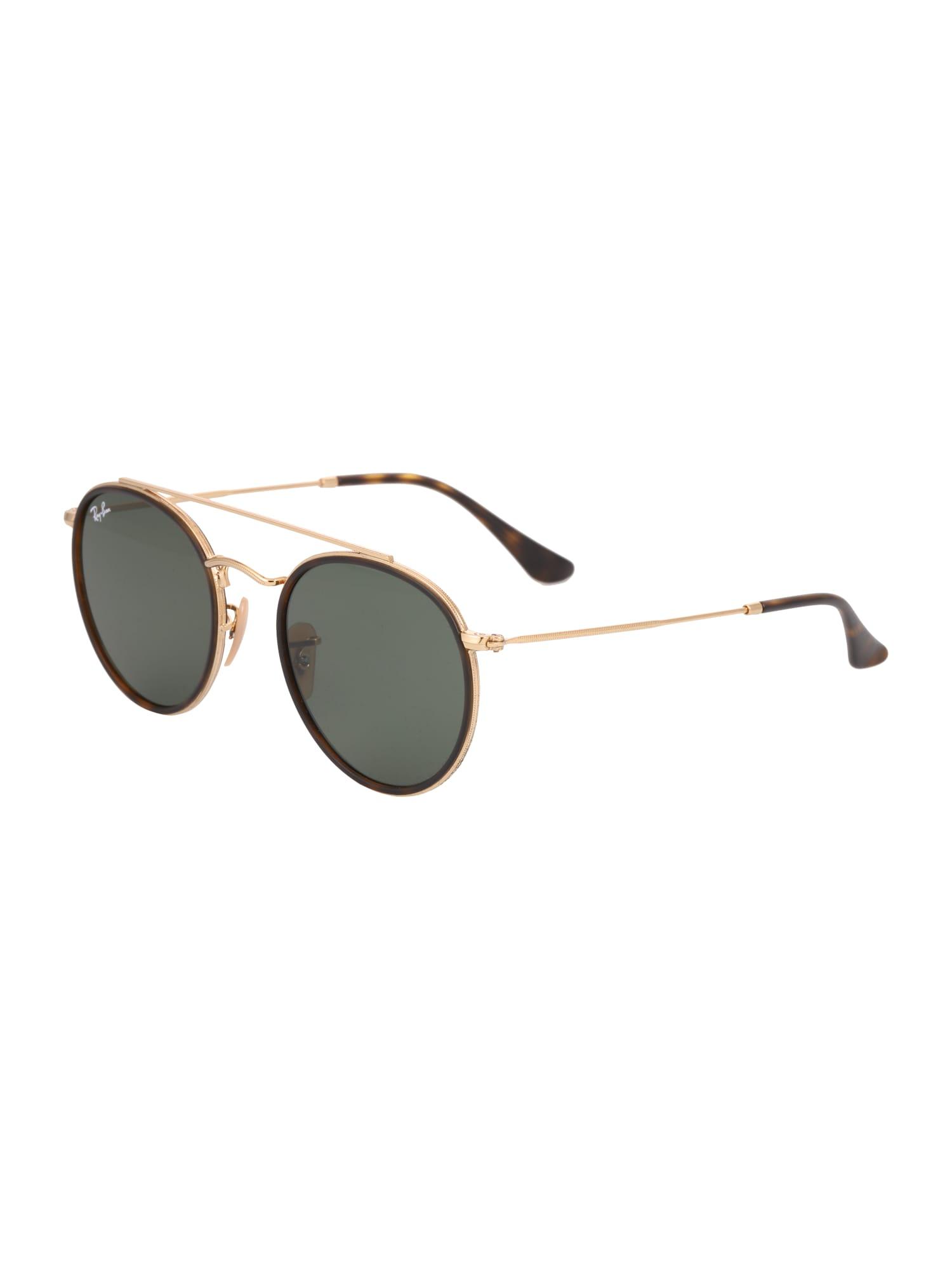 Sluneční brýle zlatá zelená Ray-Ban