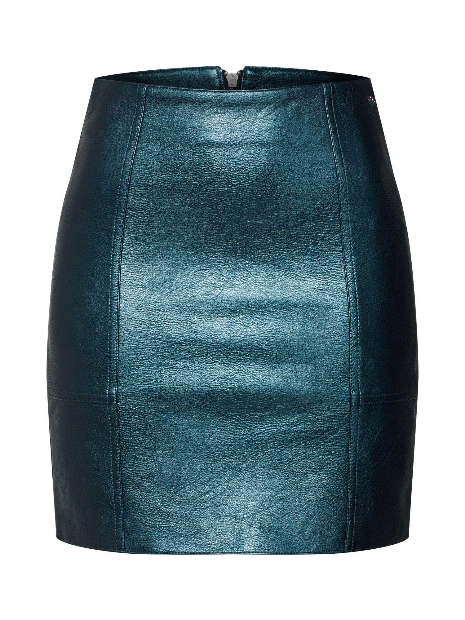 Sukně SARA smaragdová Pepe Jeans