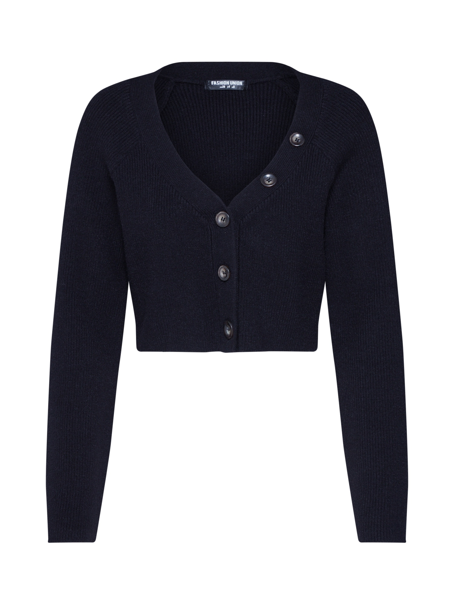 Fashion Union Kardigan 'VALERINA TOP'  černá
