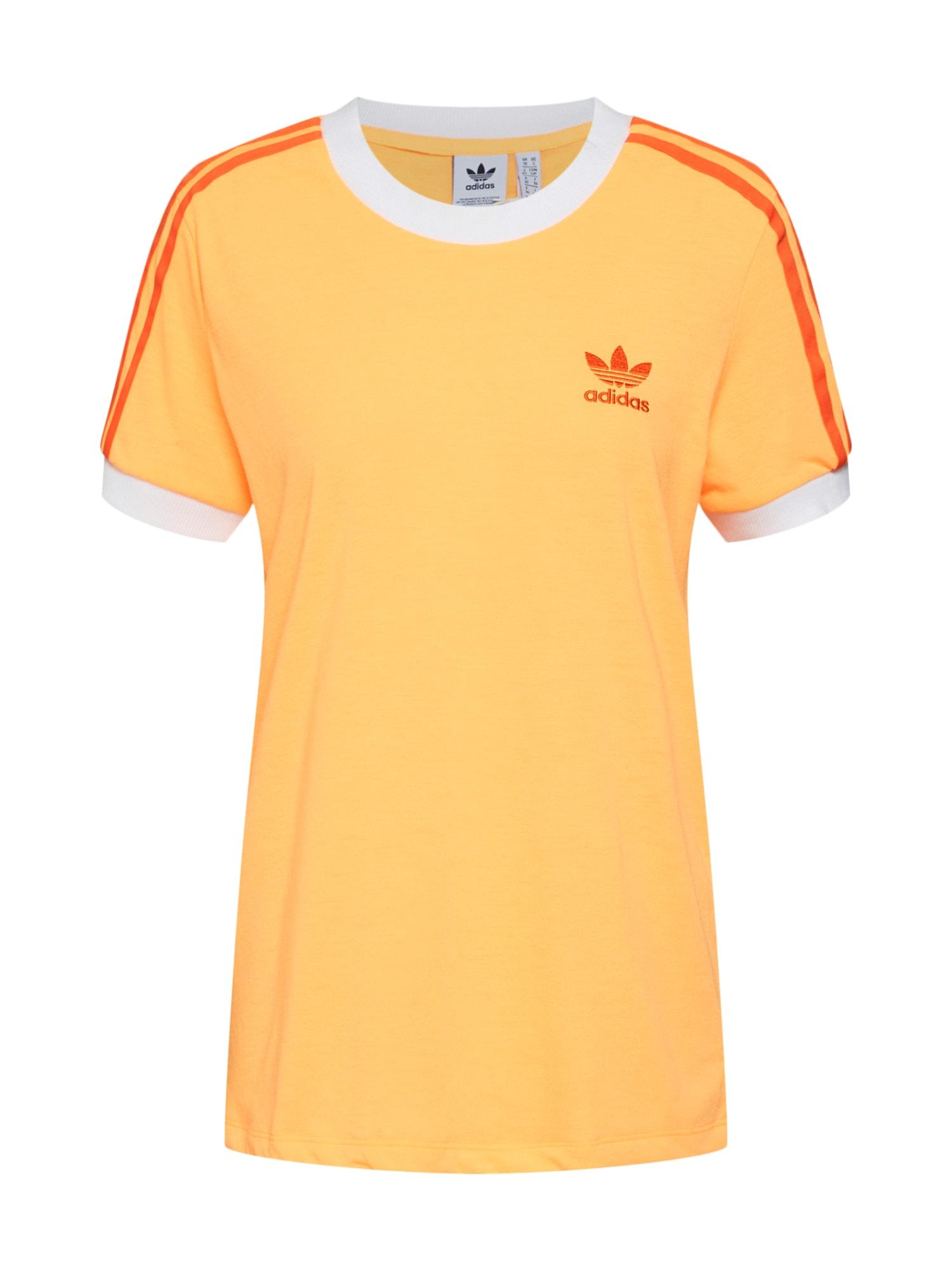 Tričko jasně oranžová ADIDAS ORIGINALS