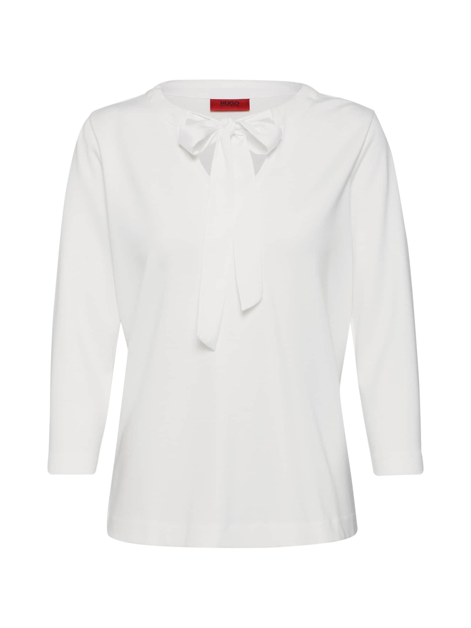 Tričko Daivas bílá HUGO