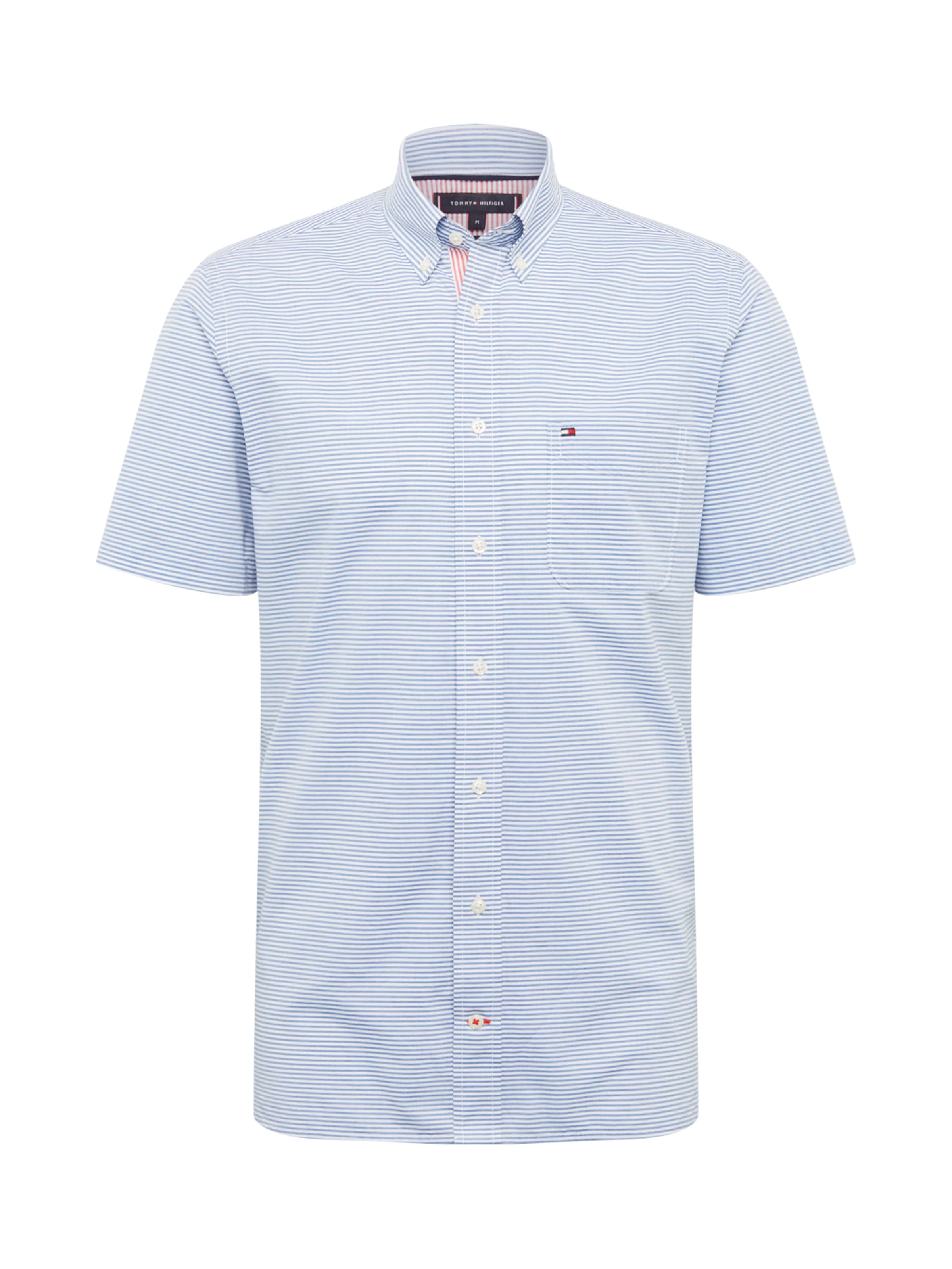 Herren Tommy Hilfiger Hemd blau,  weiß, grau, schwarz | 08719858441430