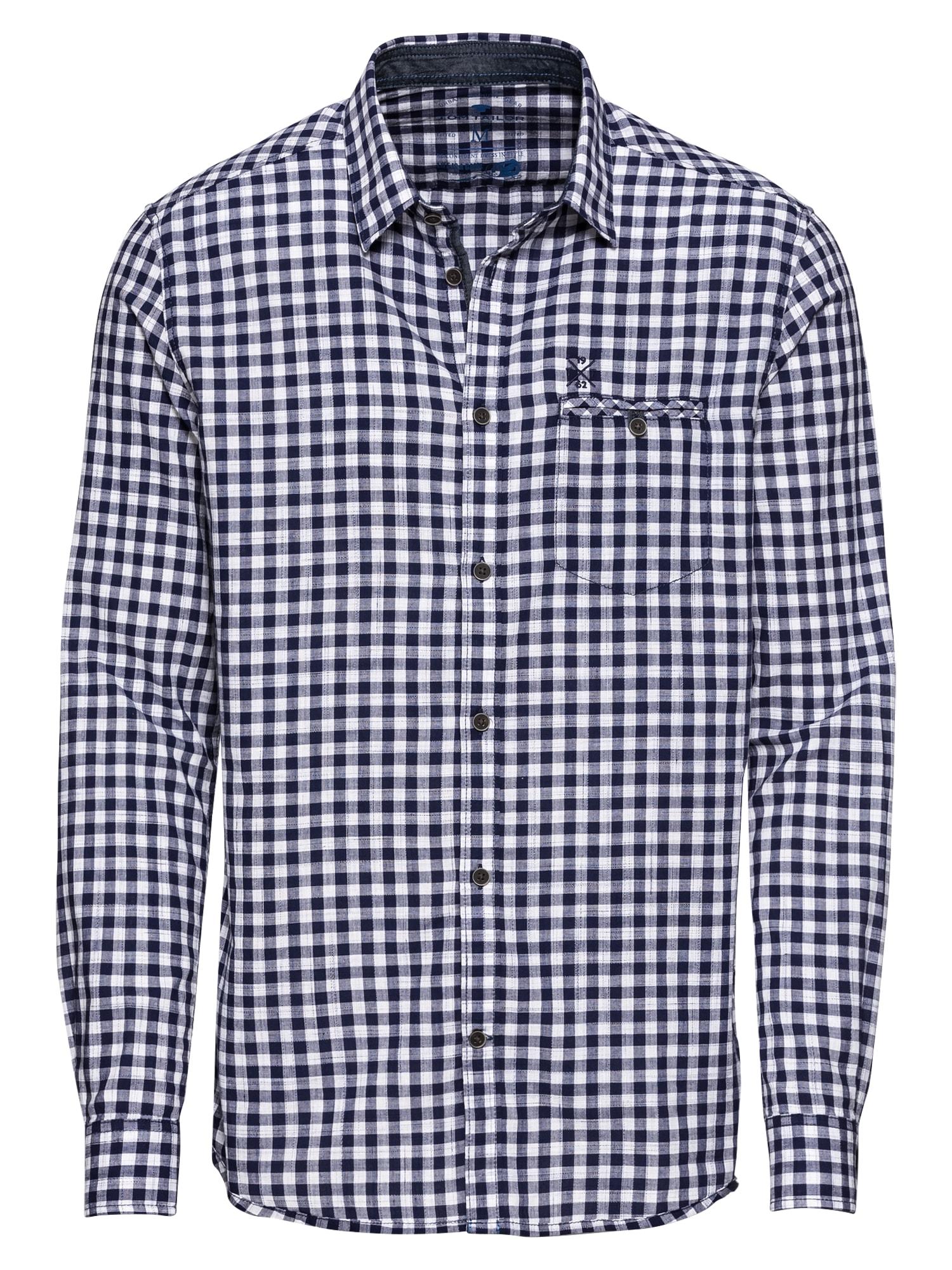 Košile floyd inject vichy shirt modrá TOM TAILOR