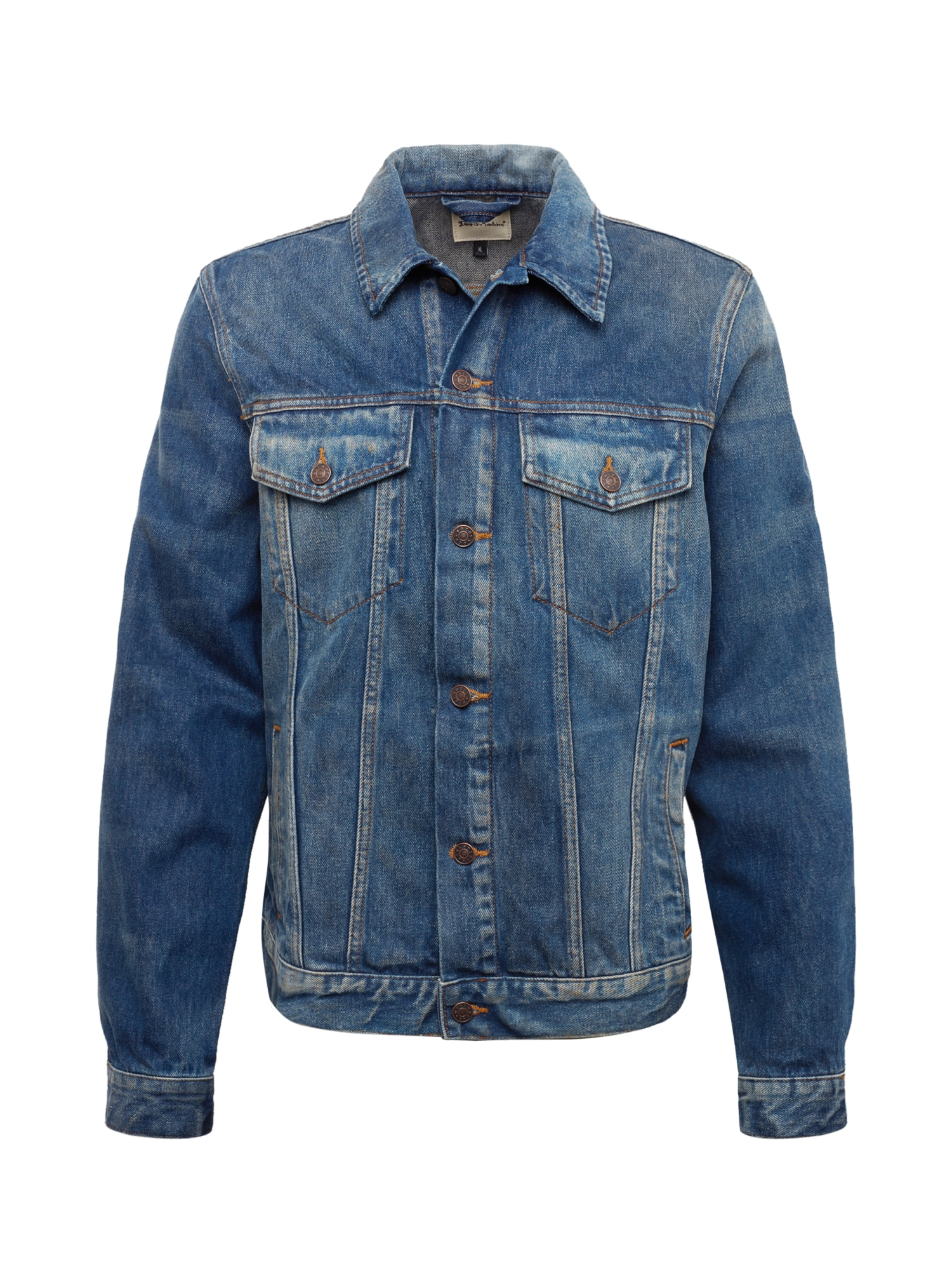 Přechodná bunda Ronald modrá džínovina DEUS EX MACHINA