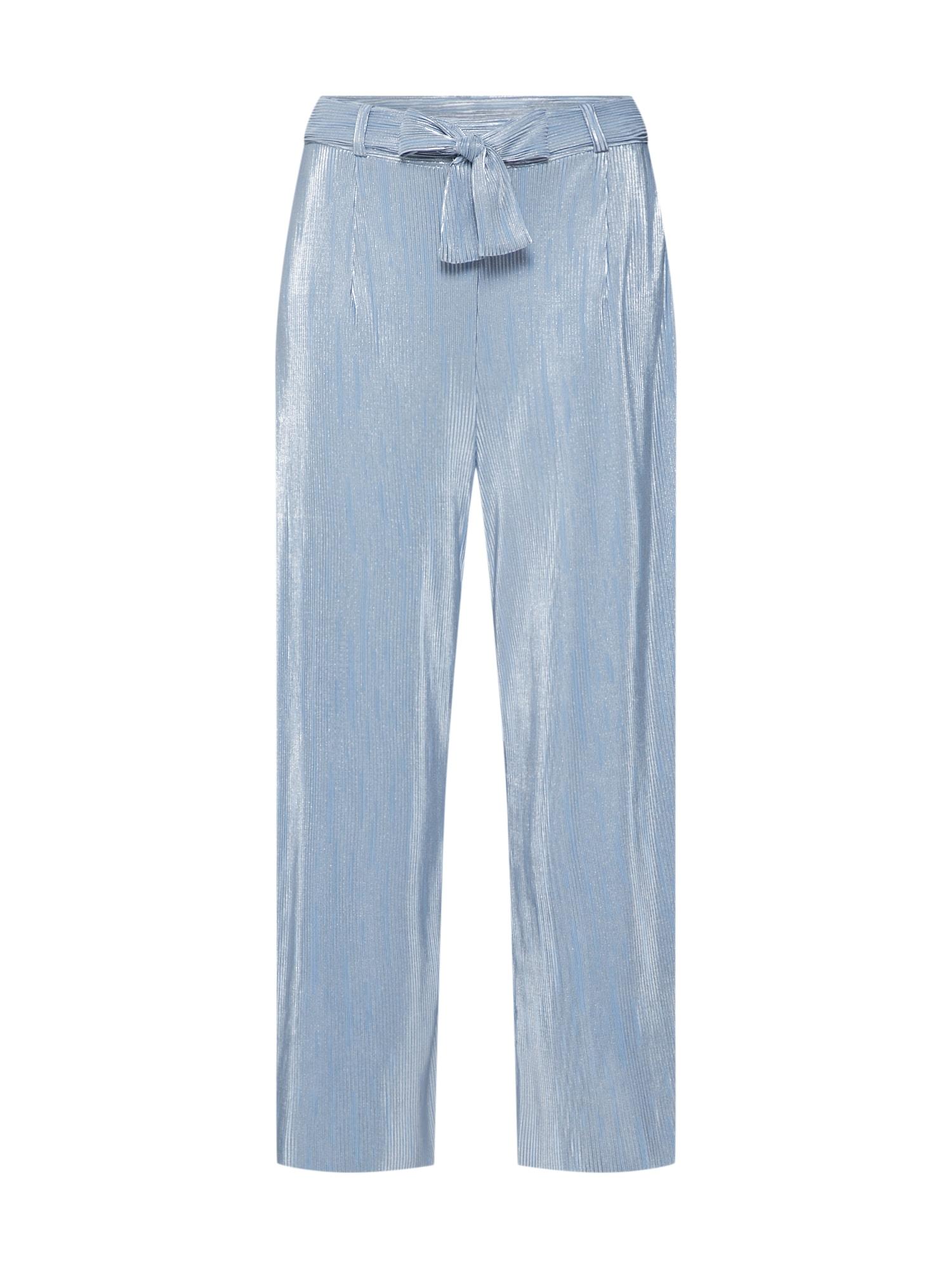 Kalhoty Rippled Party Trousers světlemodrá Pop Copenhagen