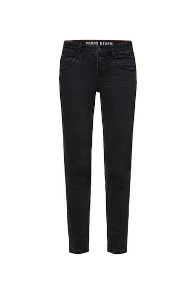 Hosen für Frauen - Jeans 'MI RA' › Soccx › anthrazit  - Onlineshop ABOUT YOU