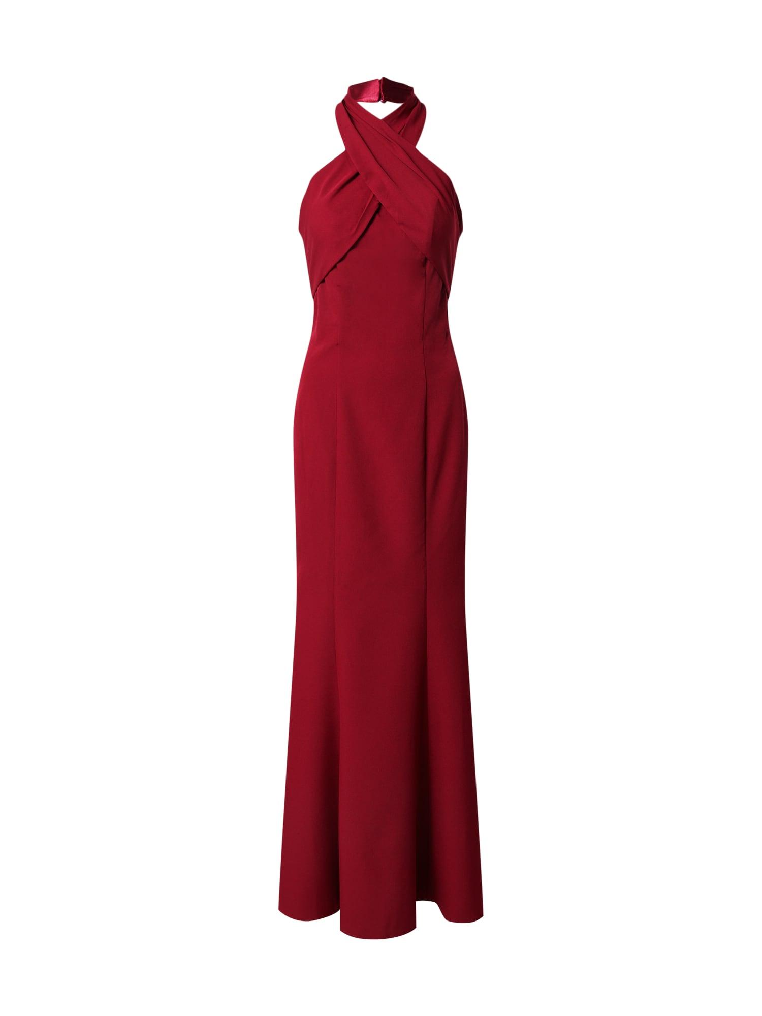Chi Chi London Vakarinė suknelė burgundiško vyno spalva