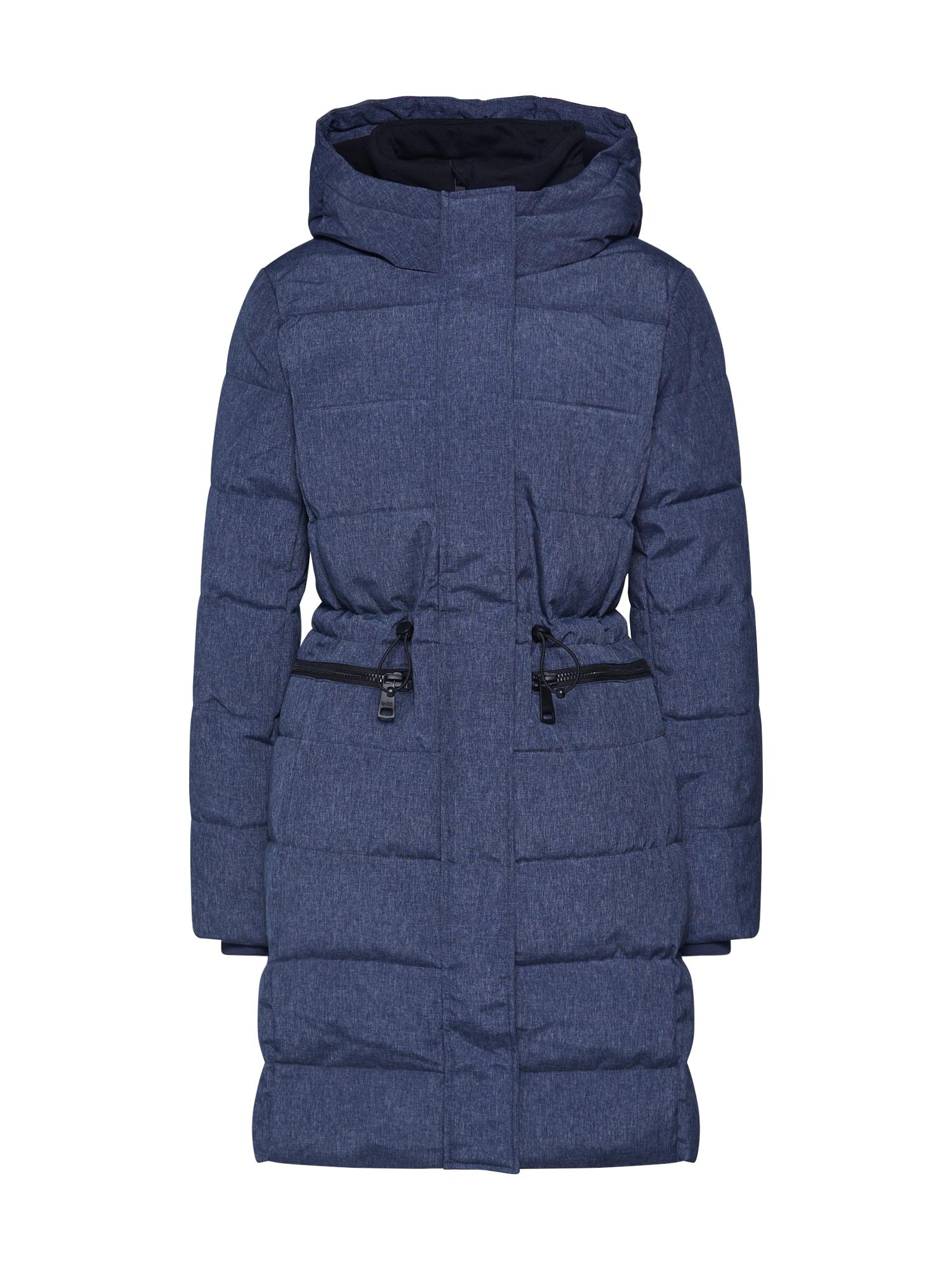 EDC BY ESPRIT Žieminis paltas '3M Thinsulate' tamsiai mėlyna