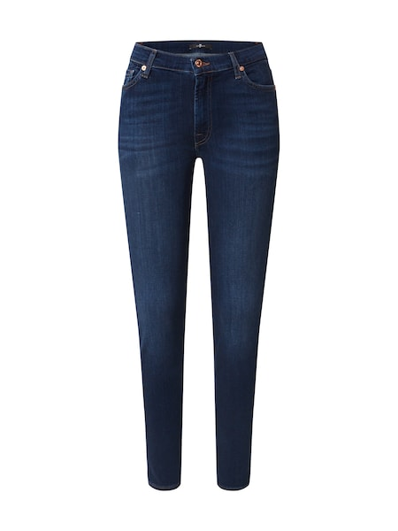 Hosen - Jeans 'HW SKINNY SLIM ILLUSION LUXE BLISS' › 7 For All Mankind › blue denim  - Onlineshop ABOUT YOU