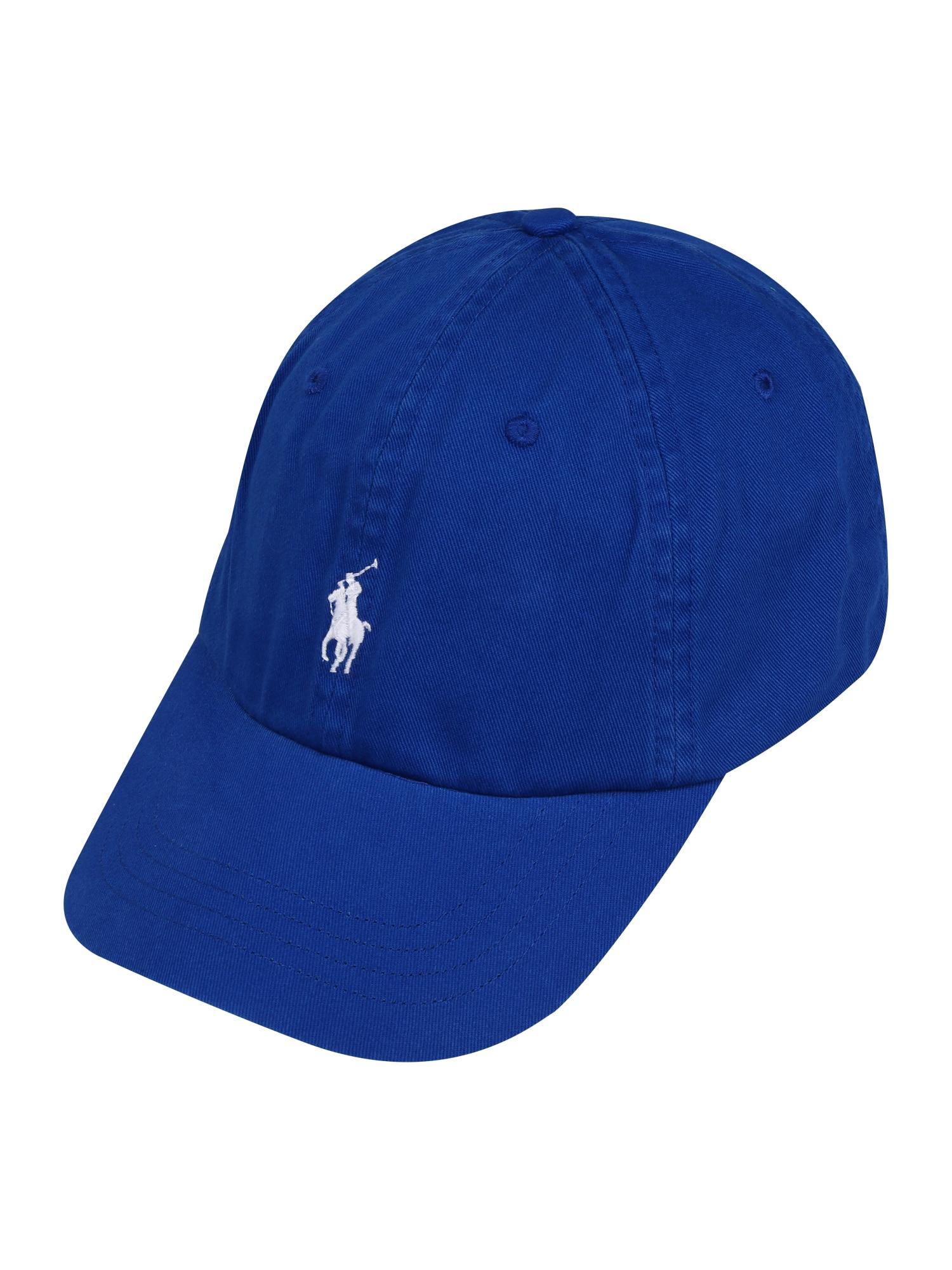 POLO RALPH LAUREN Kepurė 'CLASSIC SPORT CAP W/ SMALL PP' tamsiai mėlyna / šviesiai mėlyna