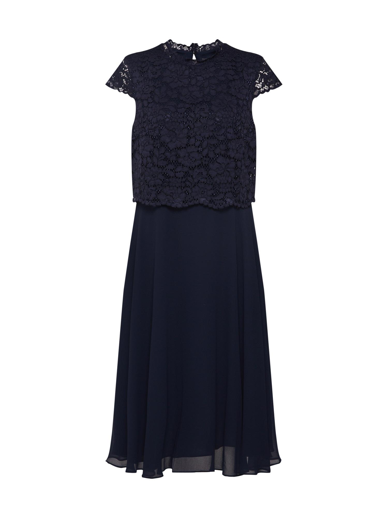 Koktejlové šaty námořnická modř Esprit Collection