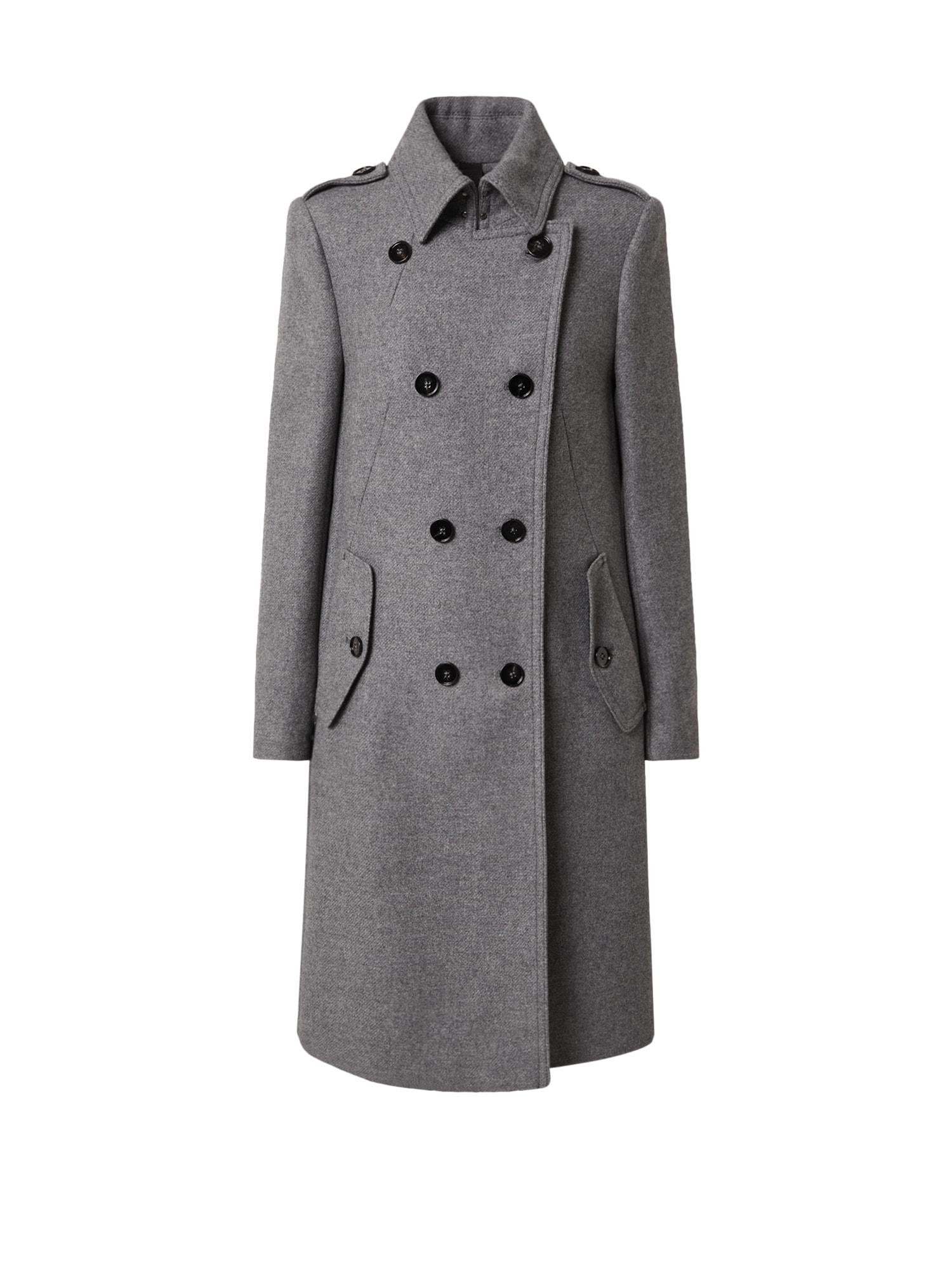 DRYKORN Demisezoninis paltas 'Harleston' pilka