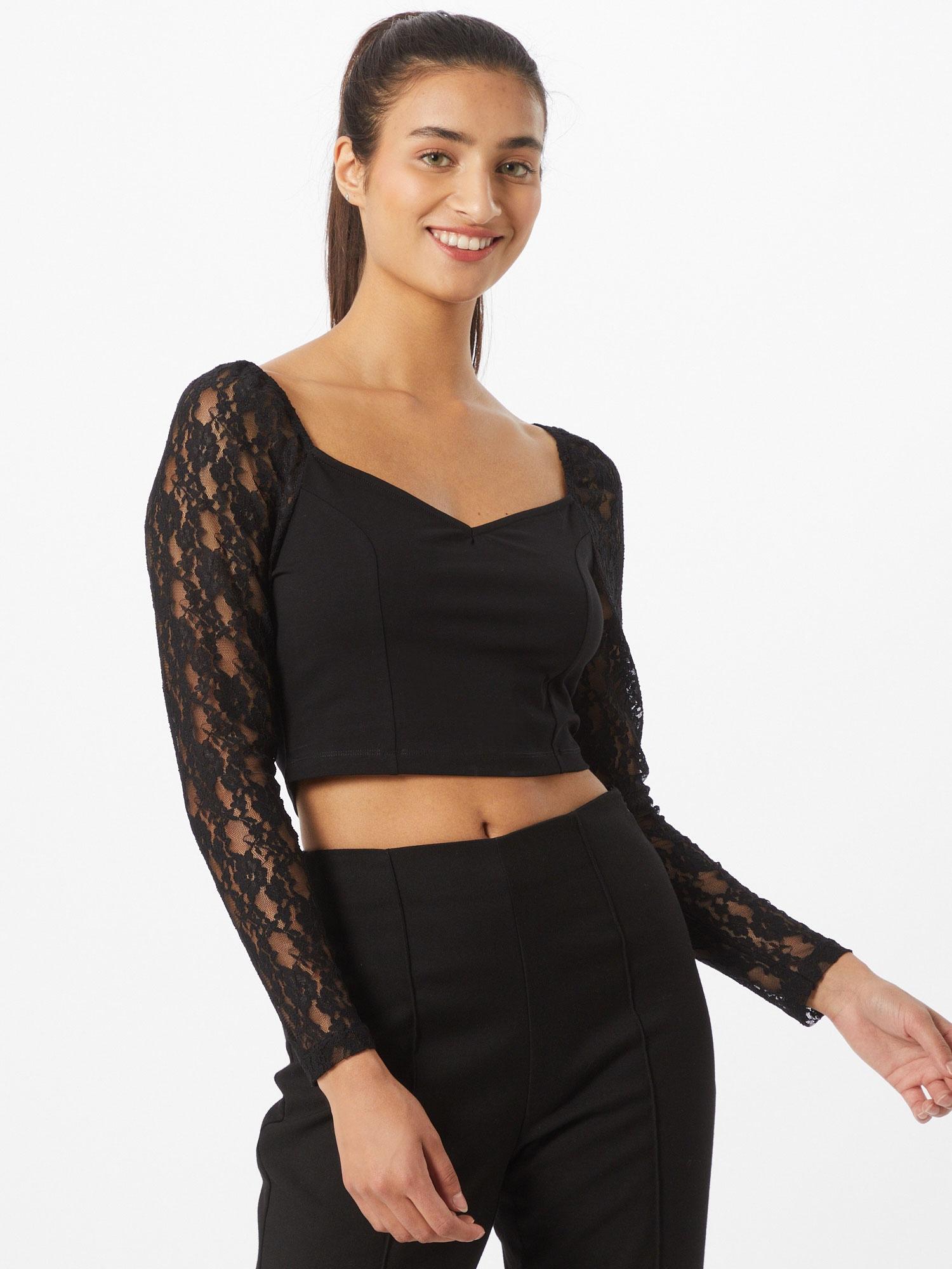 ABOUT YOU Marškinėliai 'Gina ' juoda