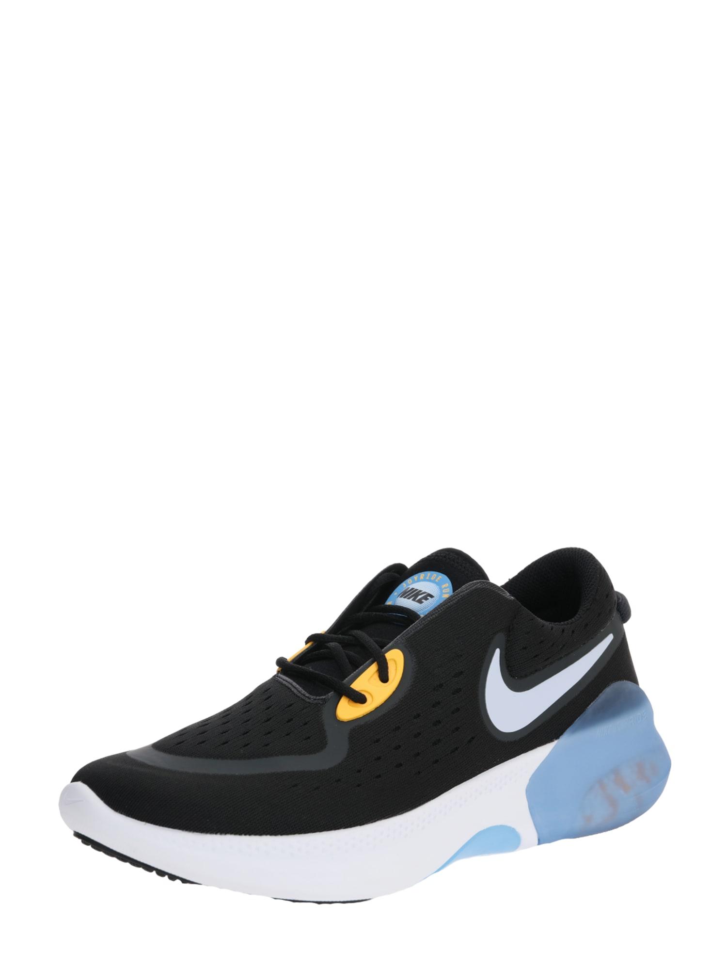 NIKE Bėgimo batai 'JOYRIDE' pilka / juoda / šviesiai mėlyna