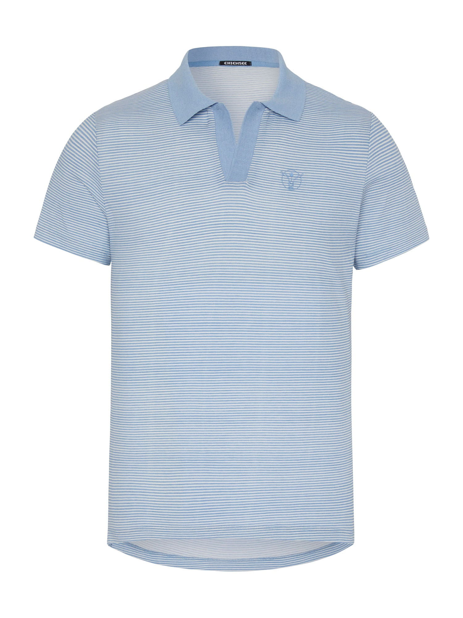 CHIEMSEE Marškinėliai balta / šviesiai mėlyna