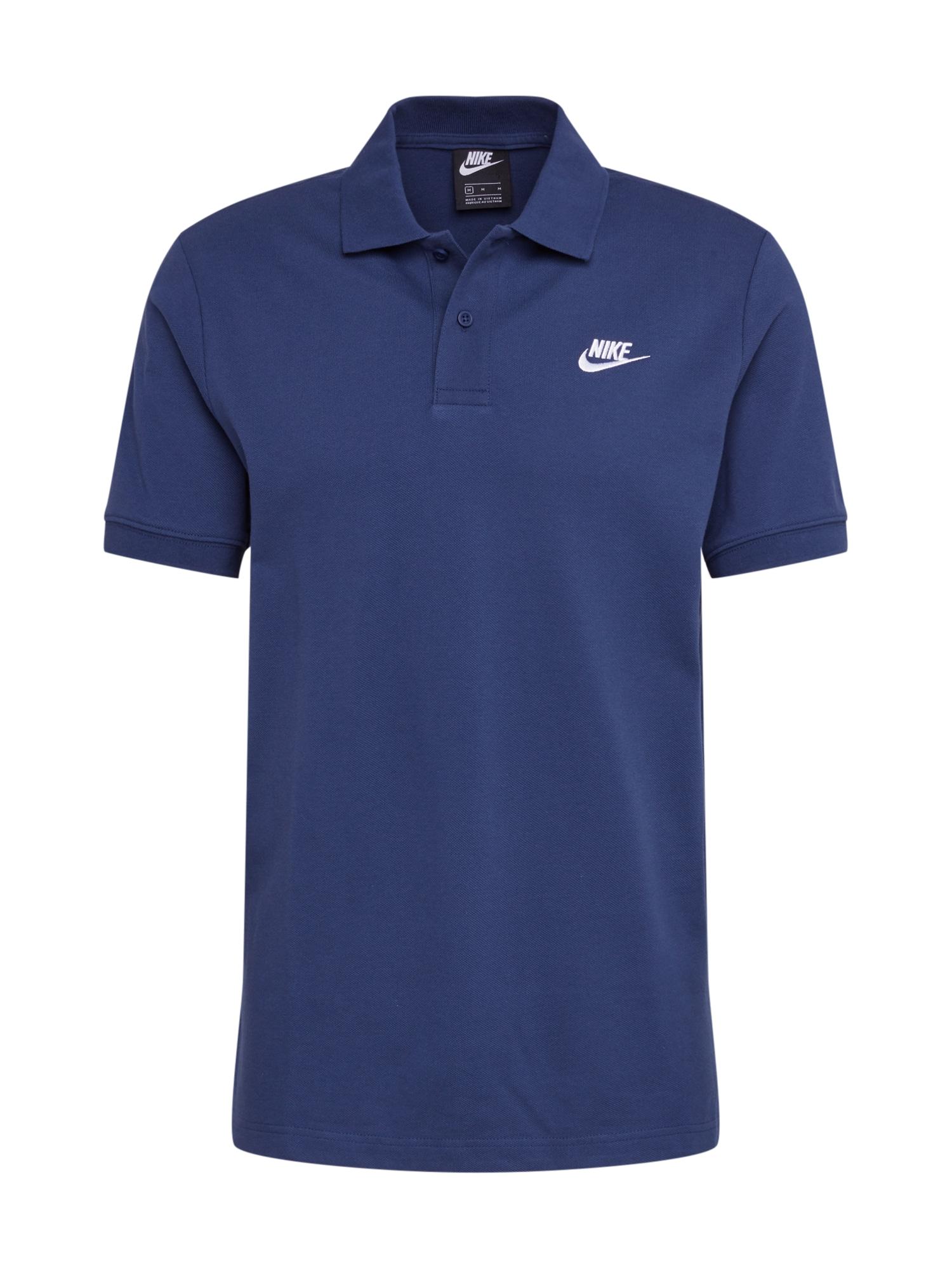 Nike Sportswear Sportiniai marškinėliai nakties mėlyna