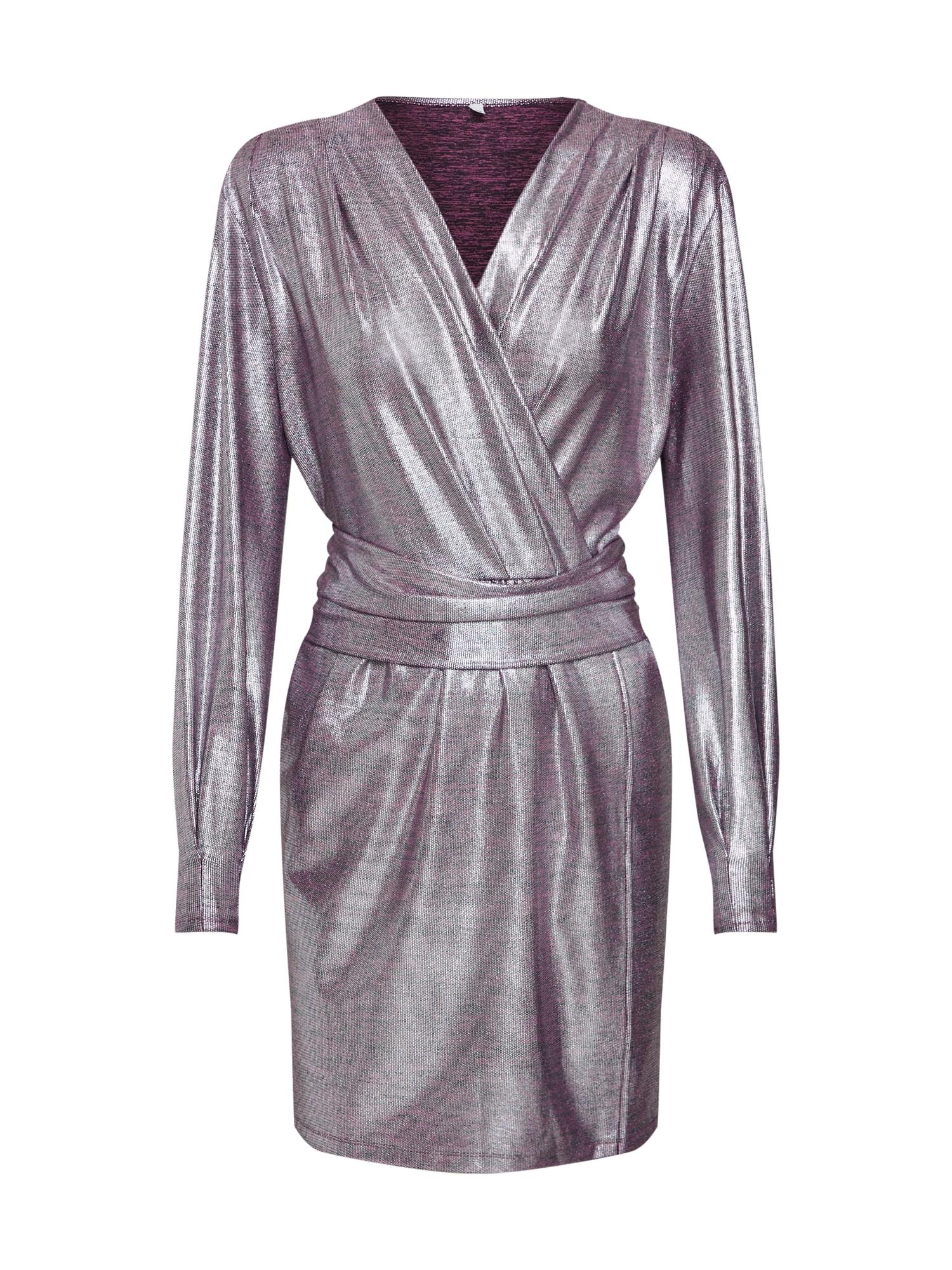 Šaty Cara stříbrná MICHALSKY FOR ABOUT YOU