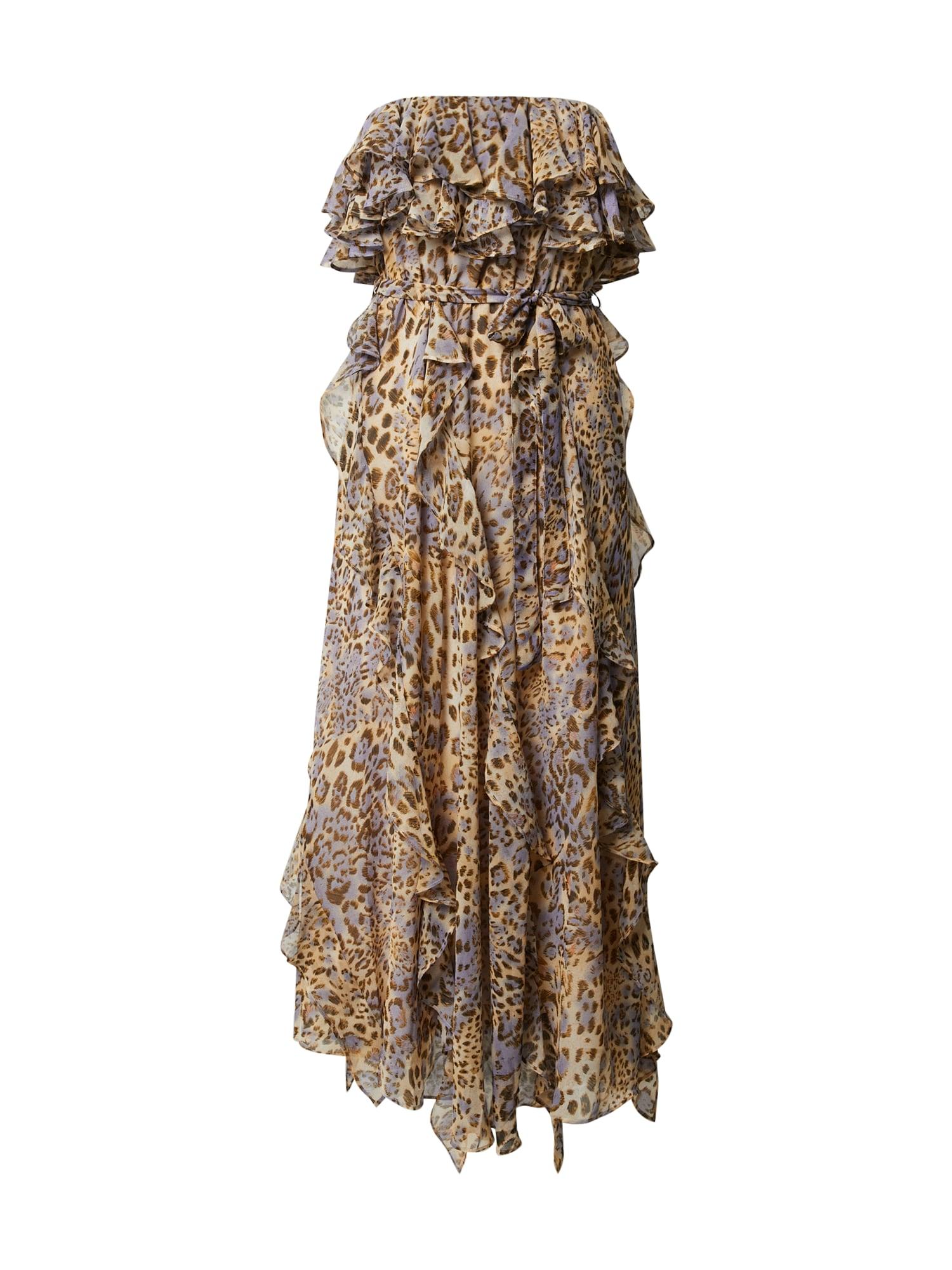Bardot Vakarinė suknelė 'RUMI' geltona / mėlyna