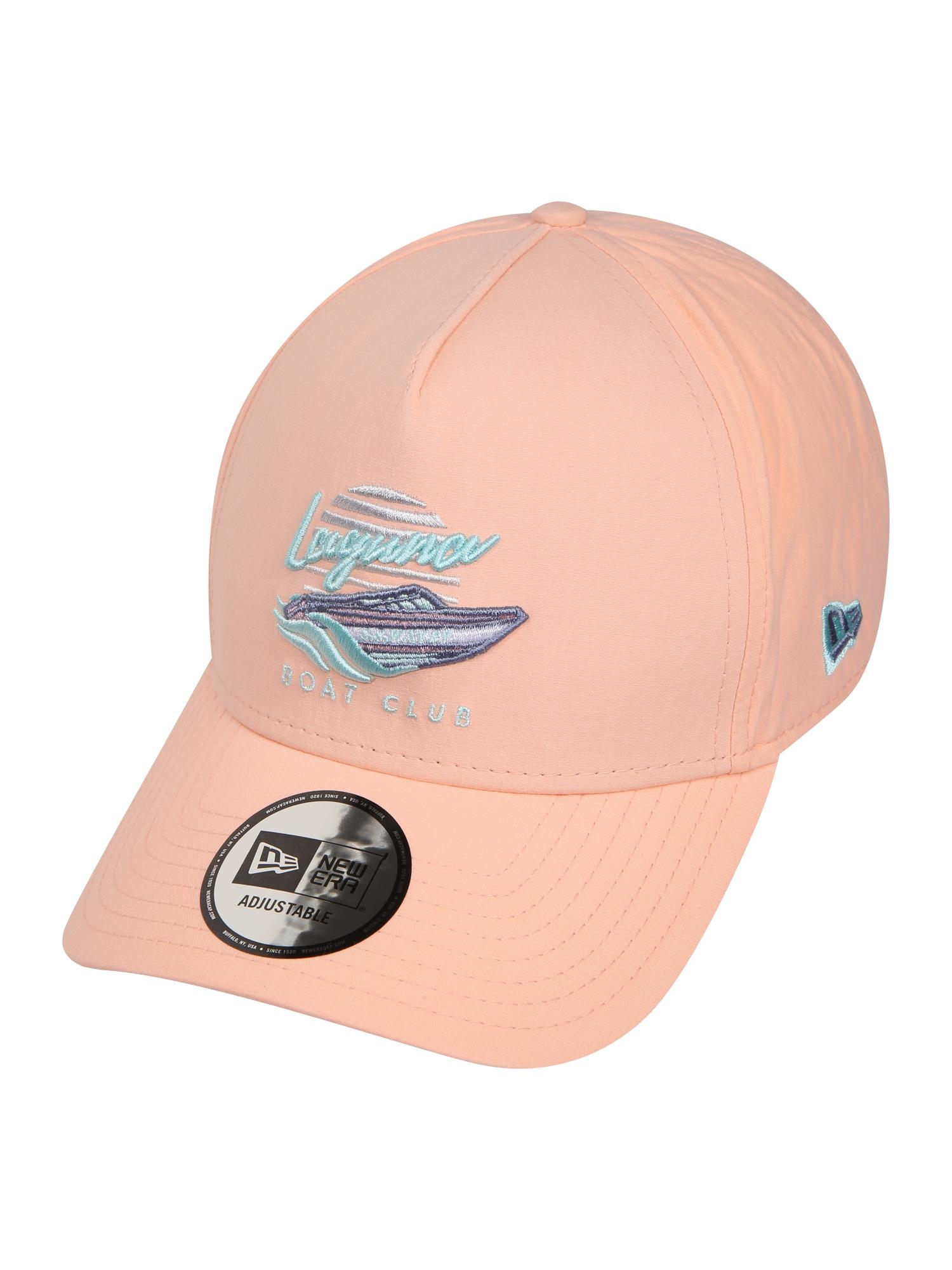 NEW ERA Kepurė 'NEW ERA BEACH TRUCKER' mėlyna / abrikosų spalva