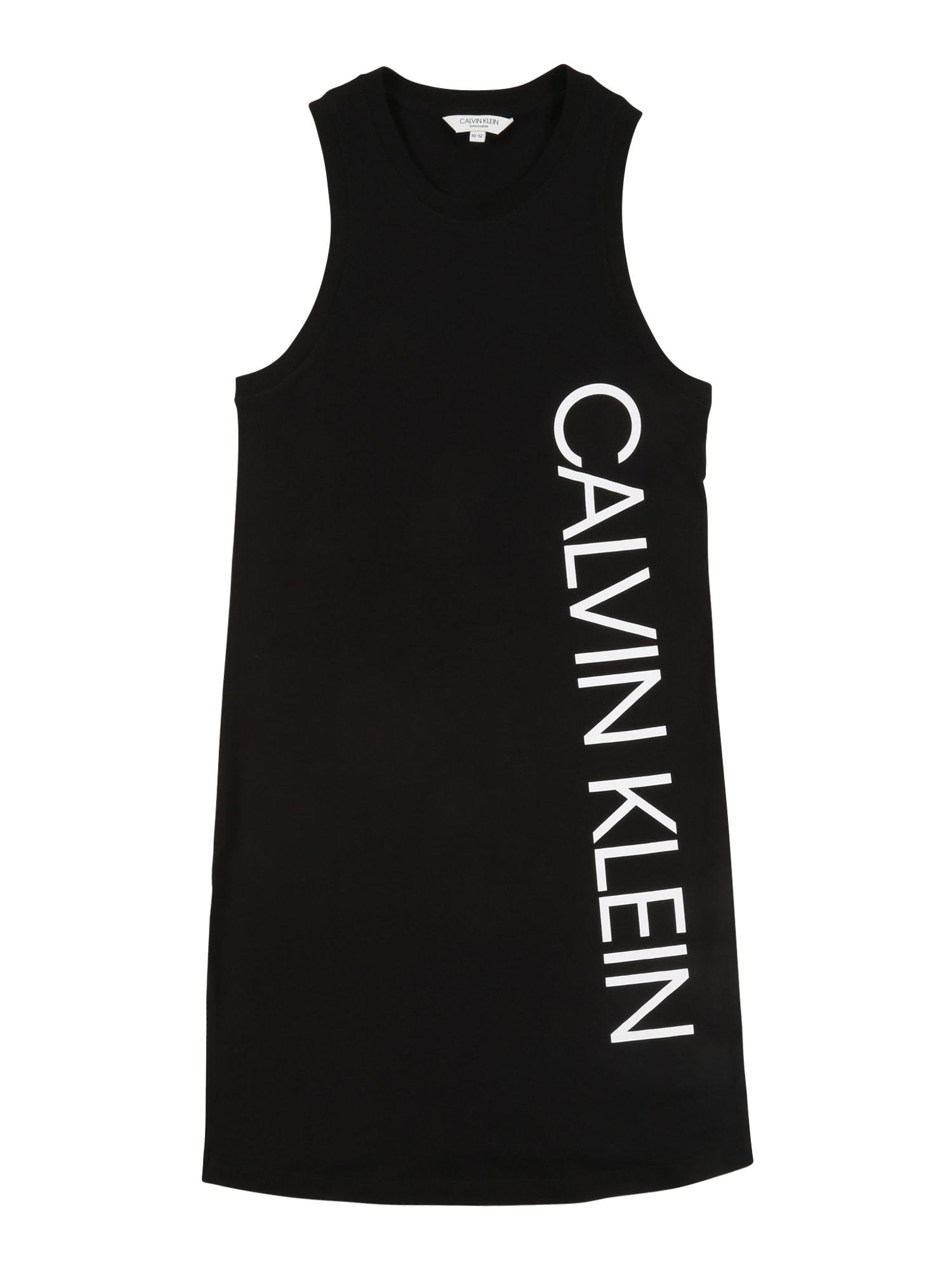 Calvin Klein Swimwear Suknelė juoda