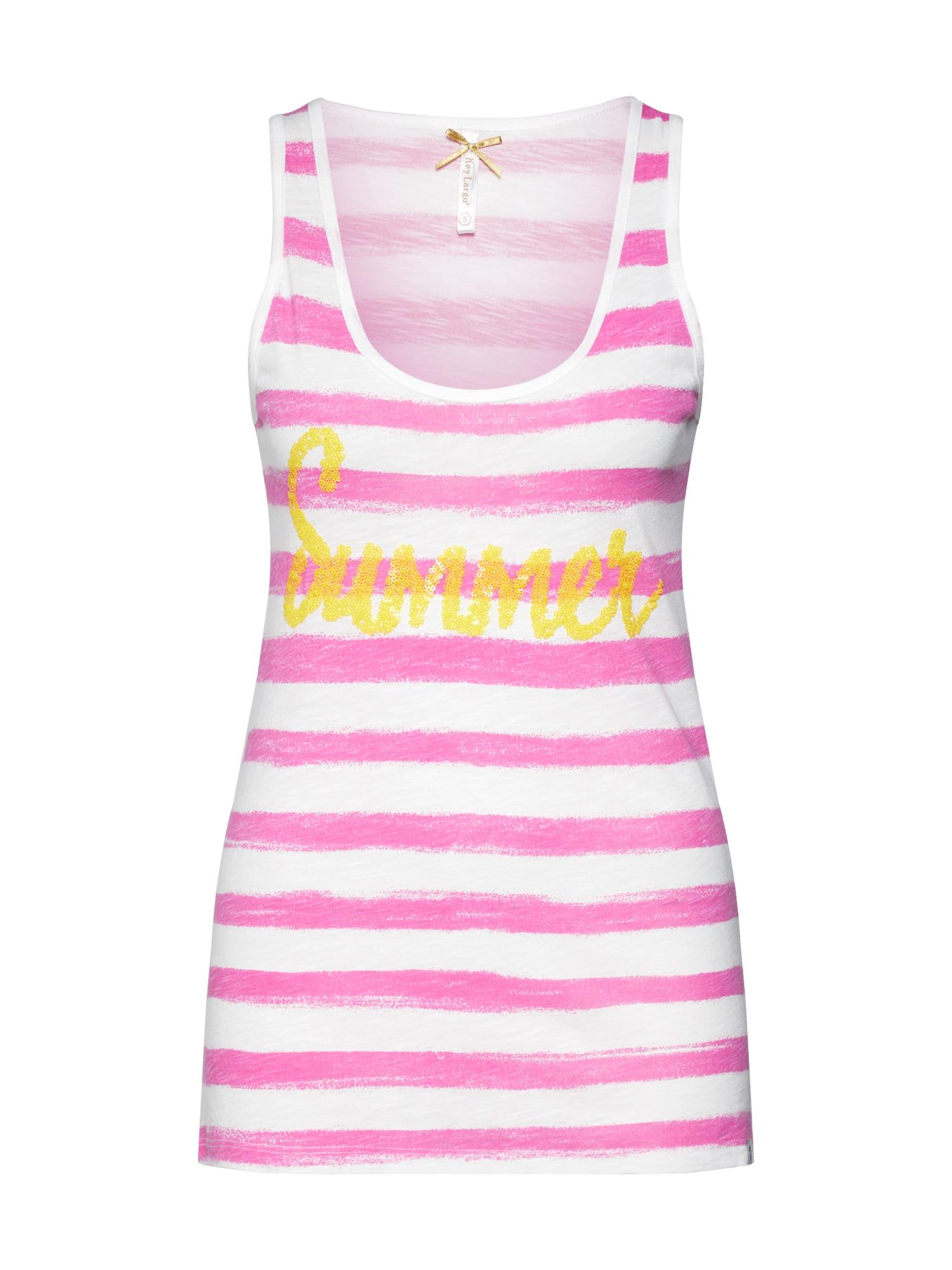 Top SUMMER pink Key Largo