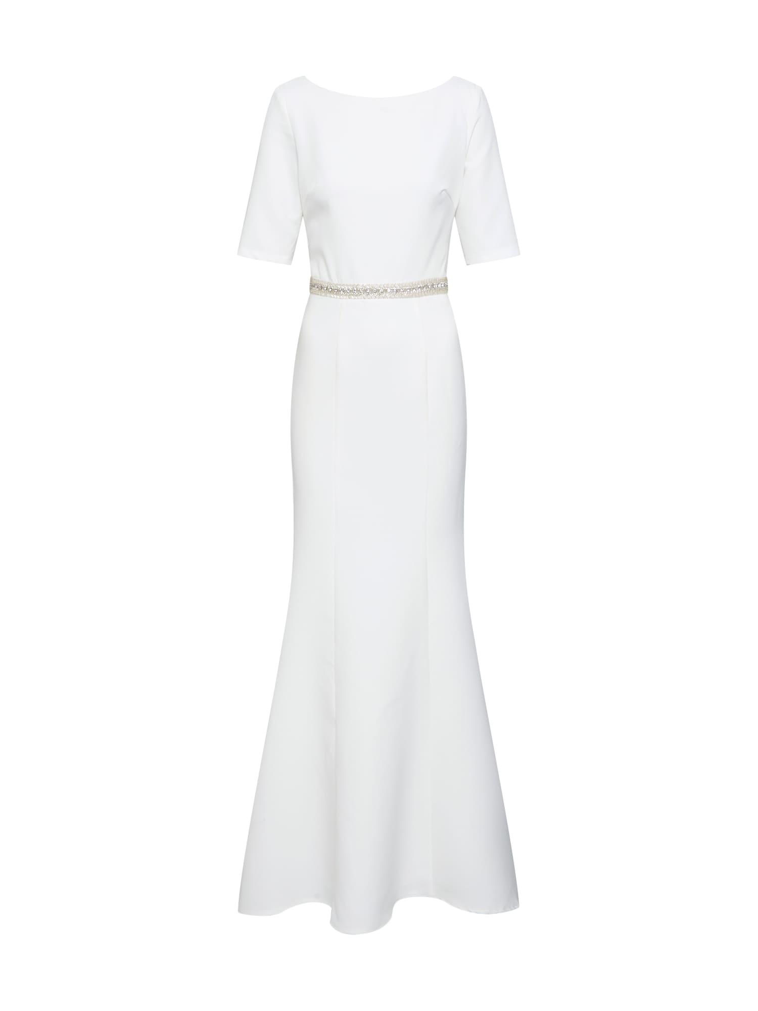 Společenské šaty Chi Chi Bridal bílá offwhite Chi Chi London