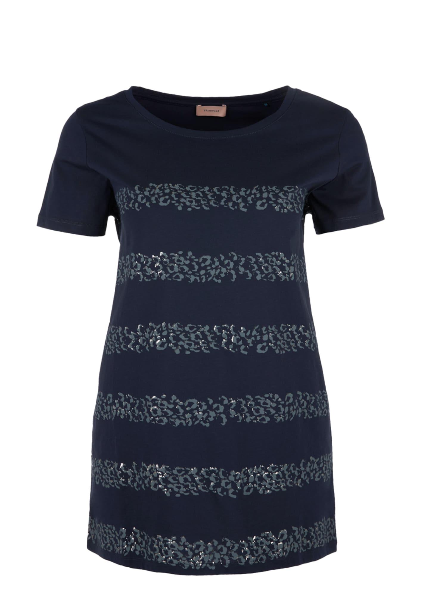 Tričko noční modrá TRIANGLE