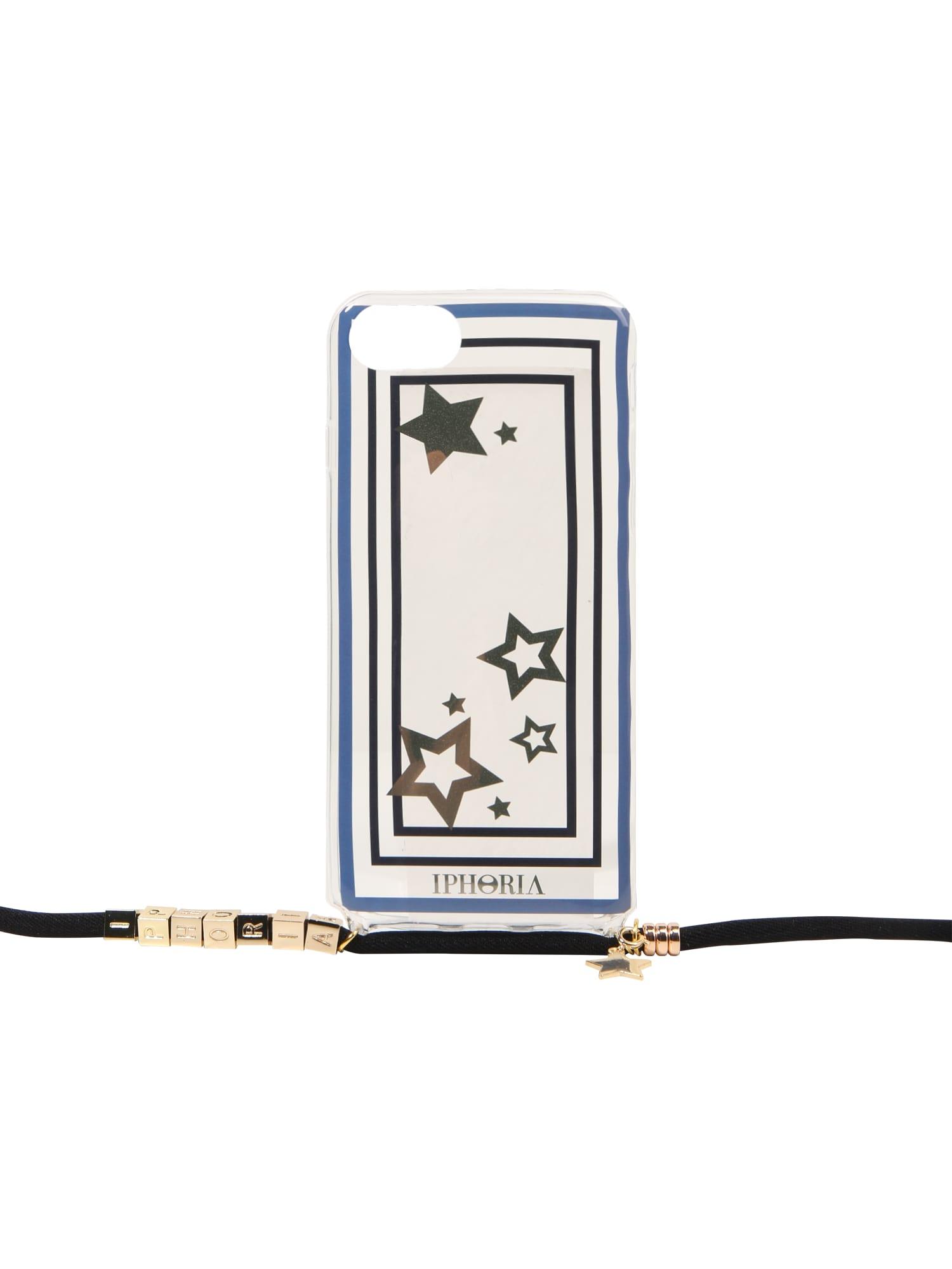 Pouzdro na smartphone modrá zlatá IPHORIA