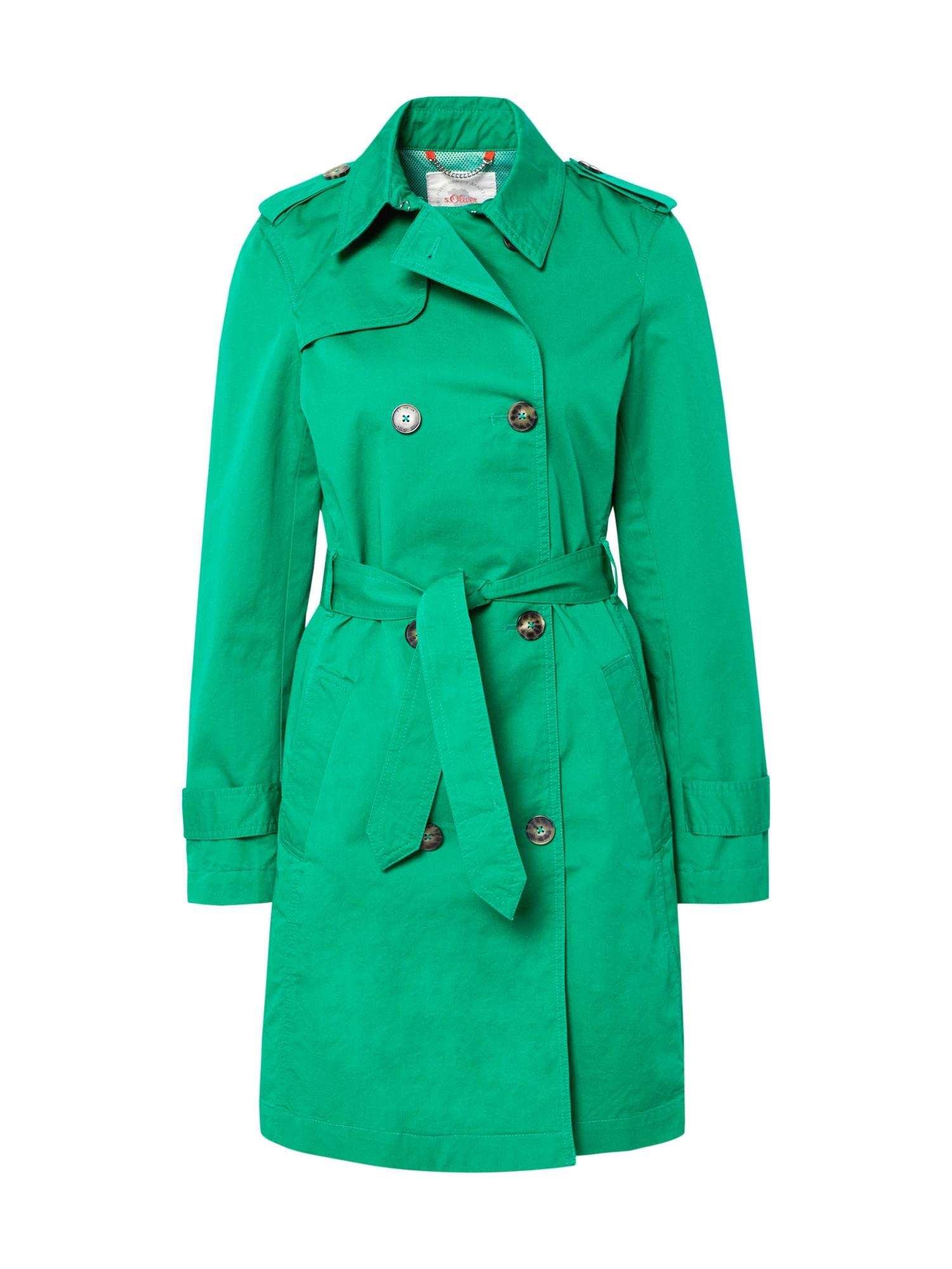 s.Oliver Rudeninis-žieminis paltas neoninė žalia