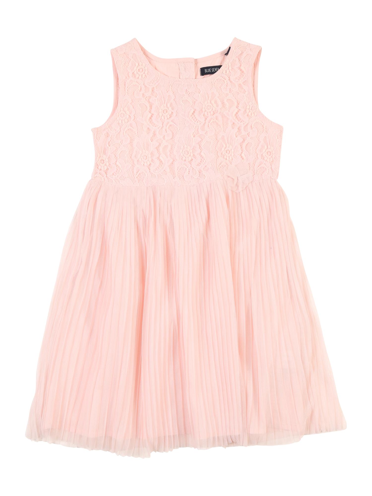 Šaty růžová BLUE SEVEN