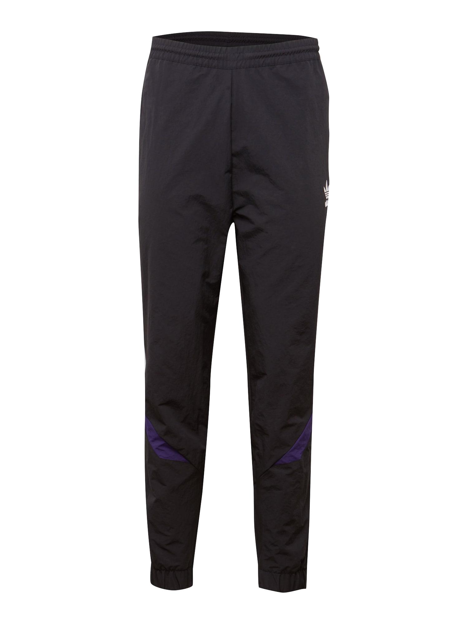 Kalhoty SPORTIVO TRACK PANT tmavě fialová tmavě růžová černá ADIDAS ORIGINALS
