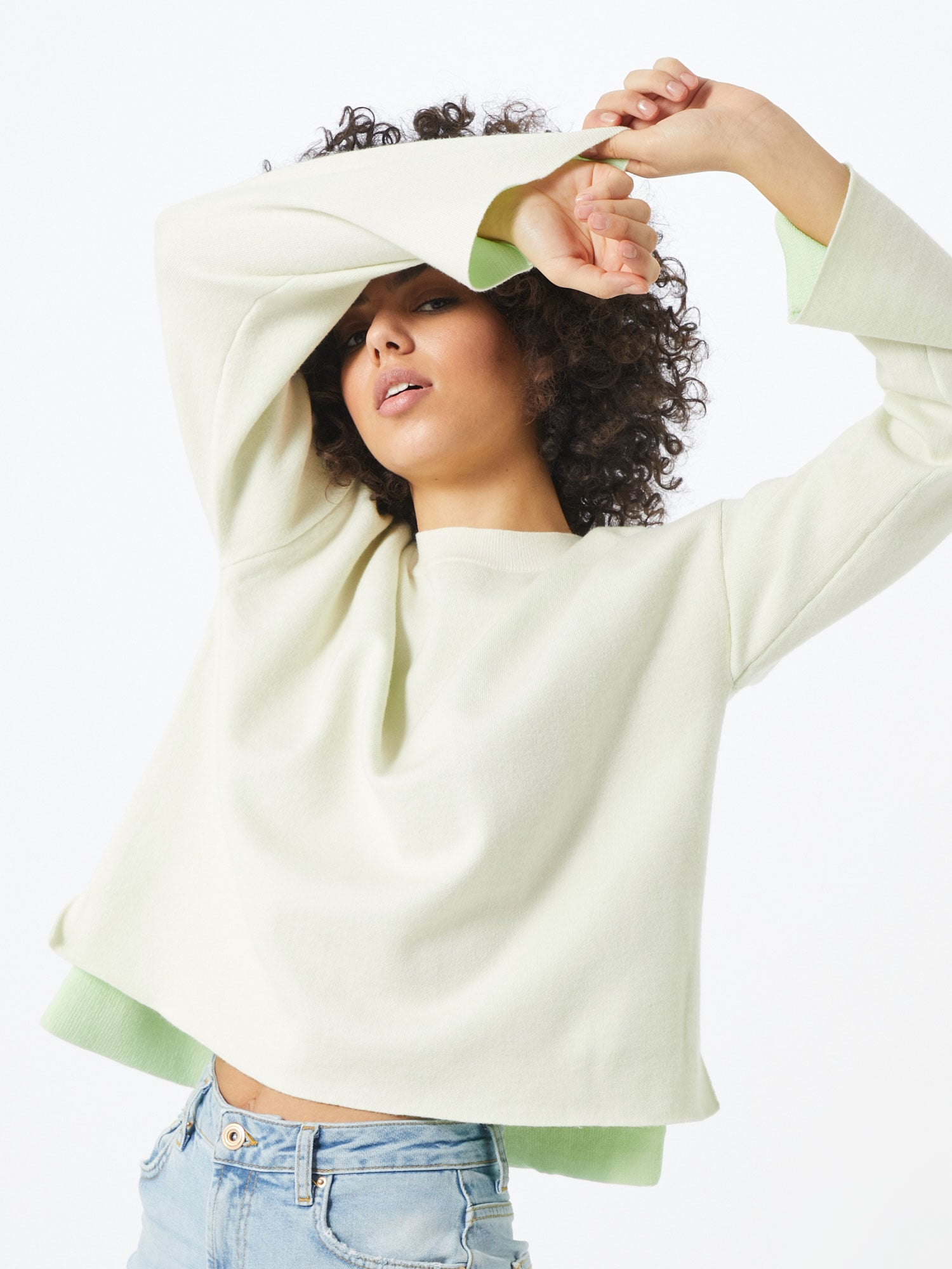 vero moda - Pullover 'Delubdouble'