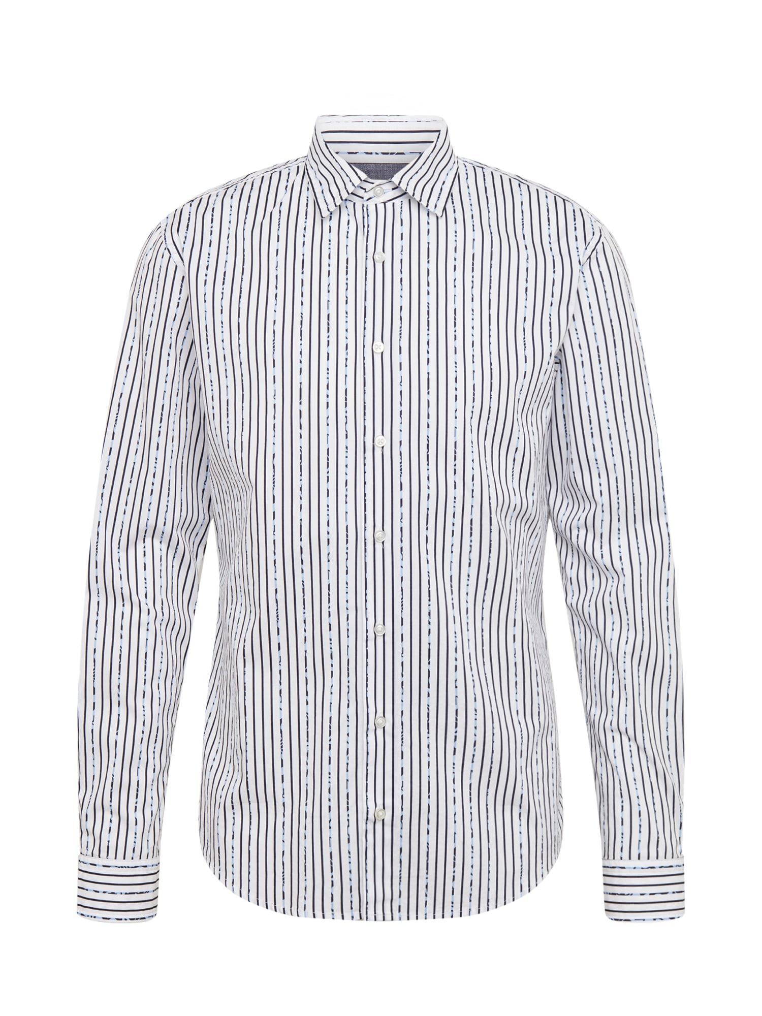 BOSS Dalykiniai marškiniai 'Mypop_2' balta