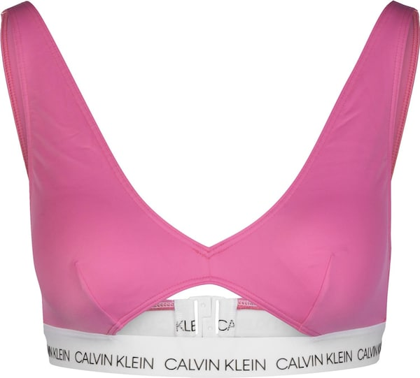 Bademode - Bikini Oberteil ' High Apex Triangle RP W ' › Calvin Klein Underwear › pink  - Onlineshop ABOUT YOU