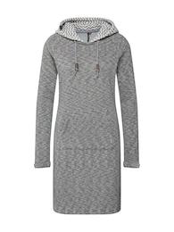 Ragwear Damen Kleid BESS grau | 04251490134935
