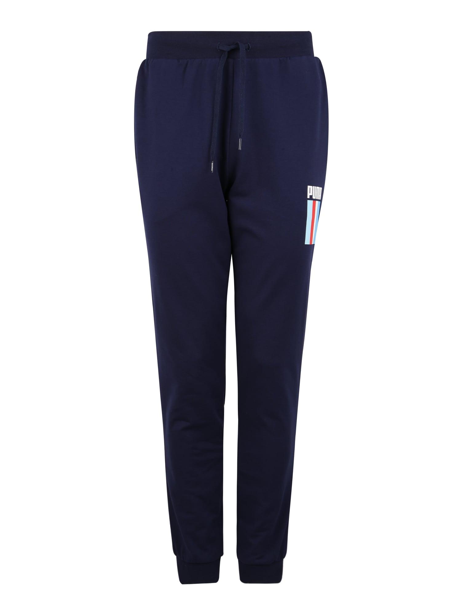 PUMA Sportinės kelnės 'CELEBRATION' tamsiai mėlyna