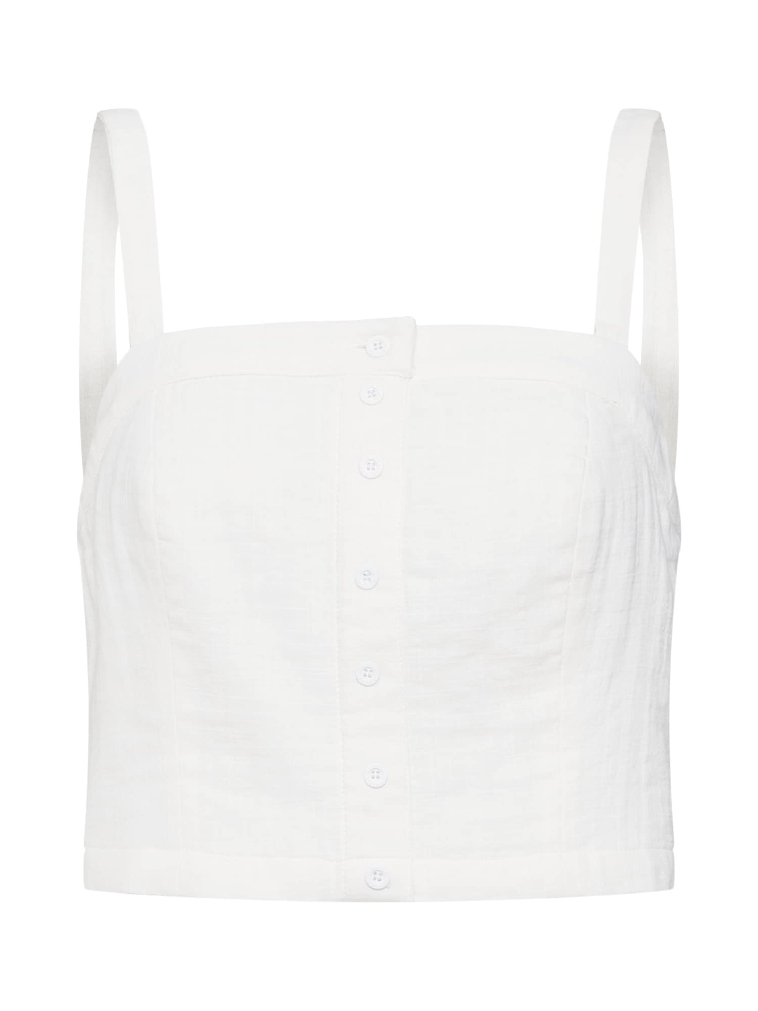 Top CROPPED SMOCK BL offwhite Review