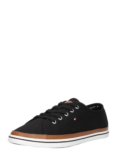 Sneakers für Frauen - Sneaker 'KESHA 6C' › Tommy Hilfiger › cognac schwarz weiß  - Onlineshop ABOUT YOU