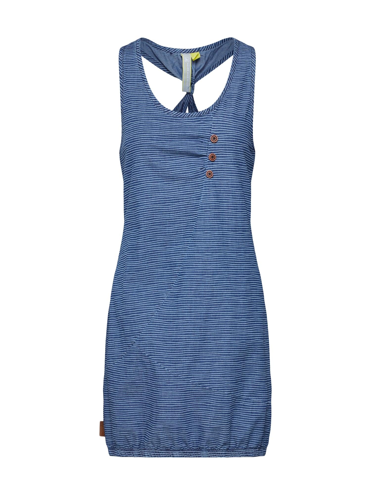 Šaty CAMERON D modrá džínovina Alife And Kickin