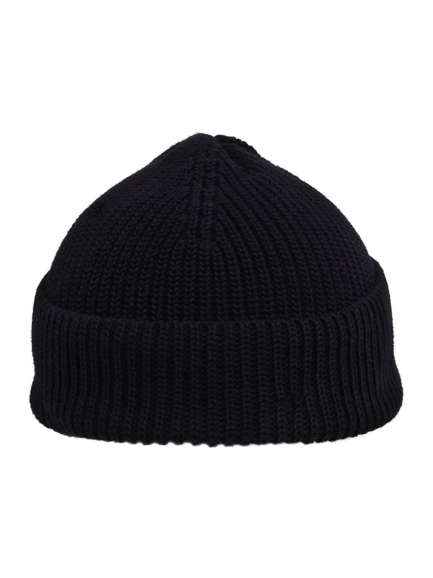 Samsoe Samsoe Megzta kepurė 'Rubin 11316' tamsiai mėlyna